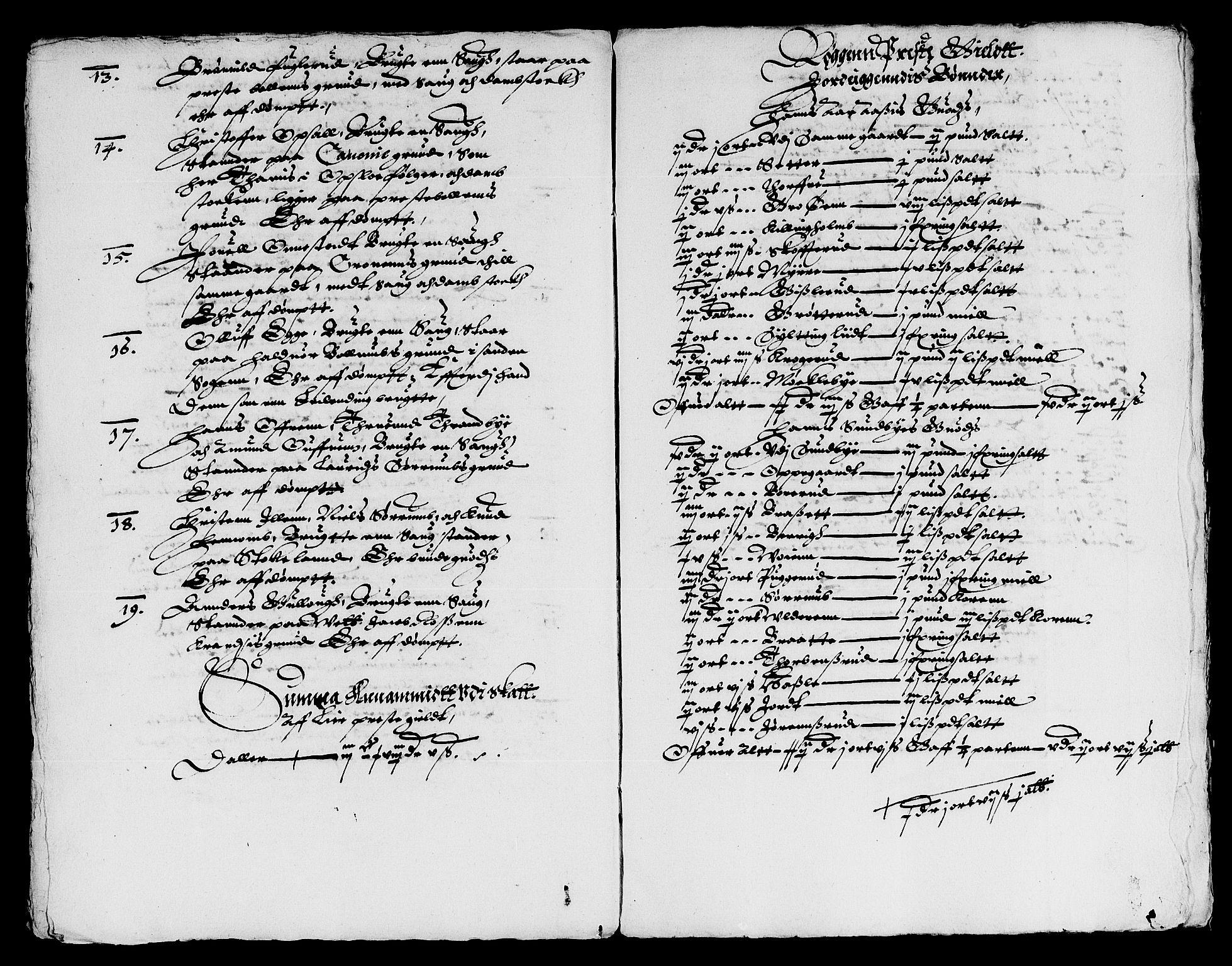 RA, Rentekammeret inntil 1814, Reviderte regnskaper, Lensregnskaper, R/Rb/Rba/L0048: Akershus len, 1618-1619