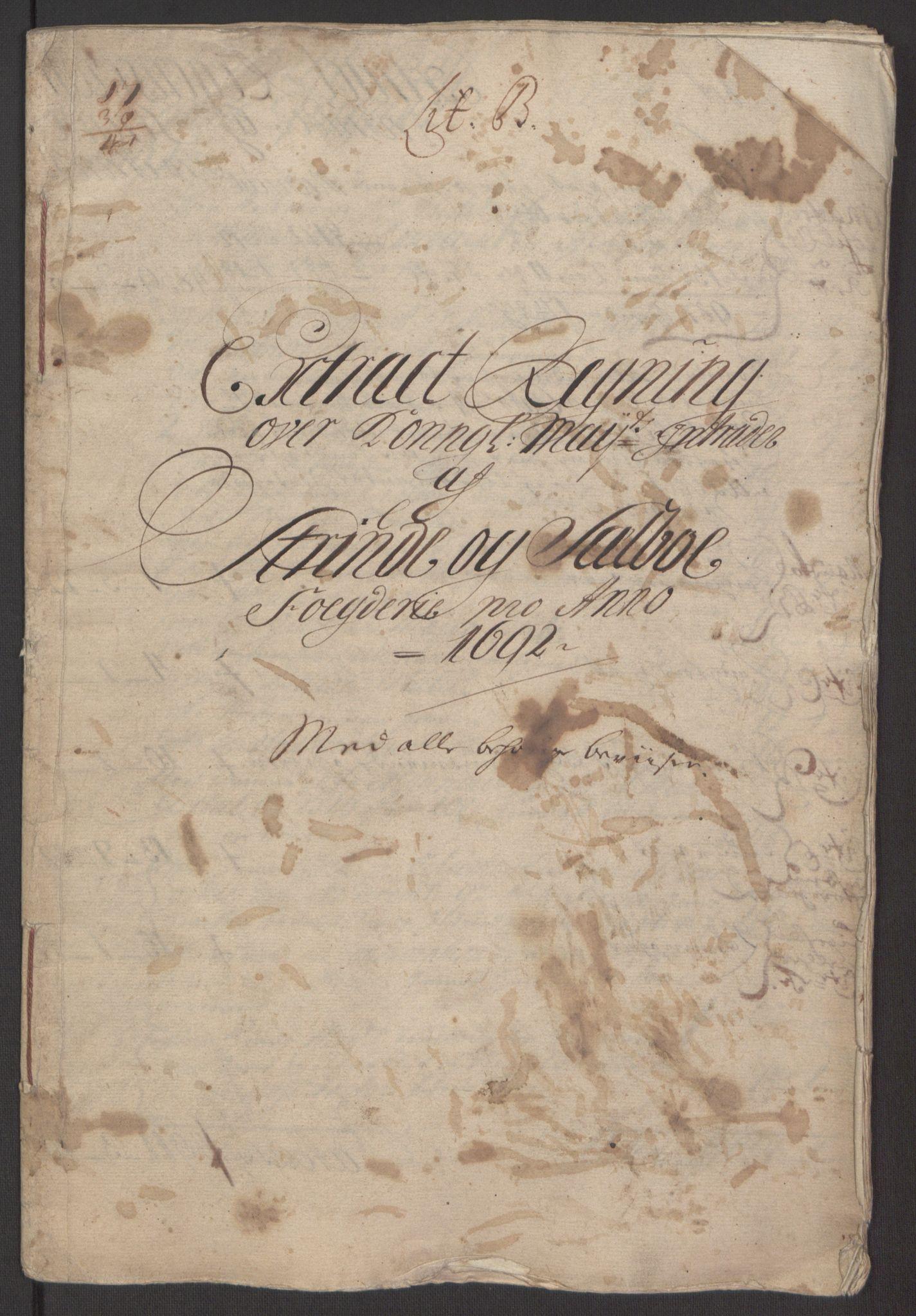 RA, Rentekammeret inntil 1814, Reviderte regnskaper, Fogderegnskap, R61/L4103: Fogderegnskap Strinda og Selbu, 1691-1692, s. 228