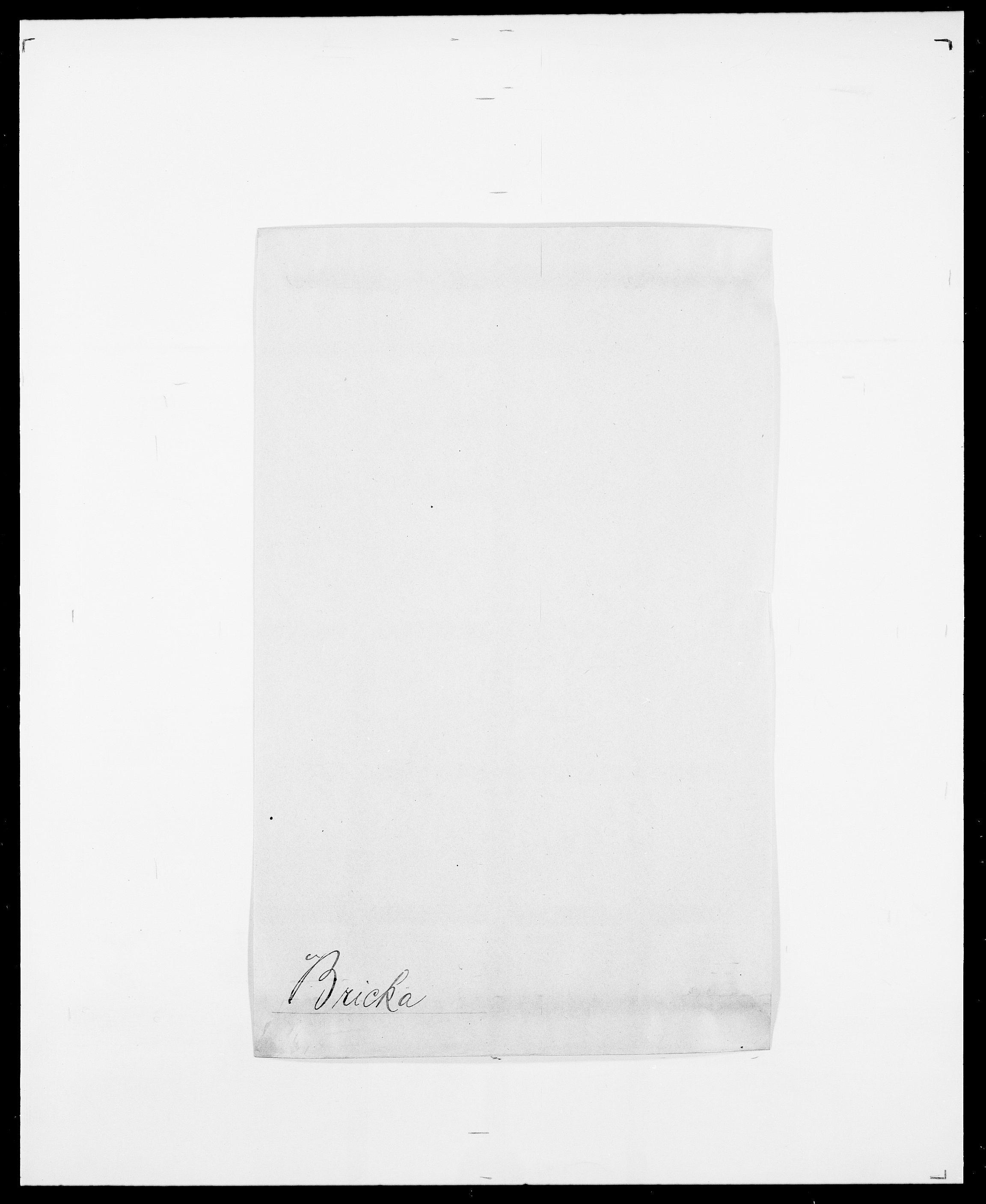SAO, Delgobe, Charles Antoine - samling, D/Da/L0006: Brambani - Brønø, s. 348
