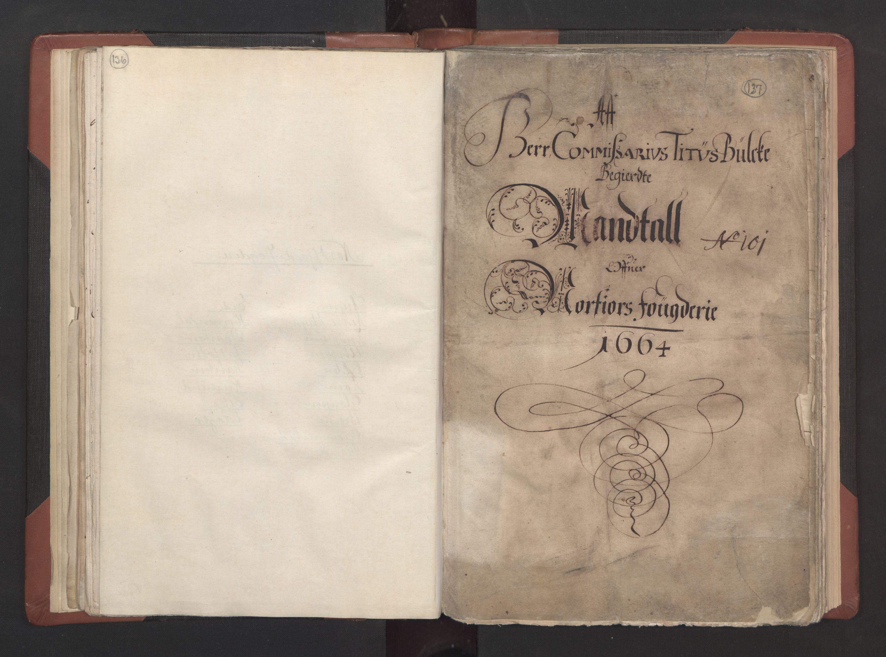 RA, Fogdenes og sorenskrivernes manntall 1664-1666, nr. 15: Nordfjord fogderi og Sunnfjord fogderi, 1664, s. 136-137