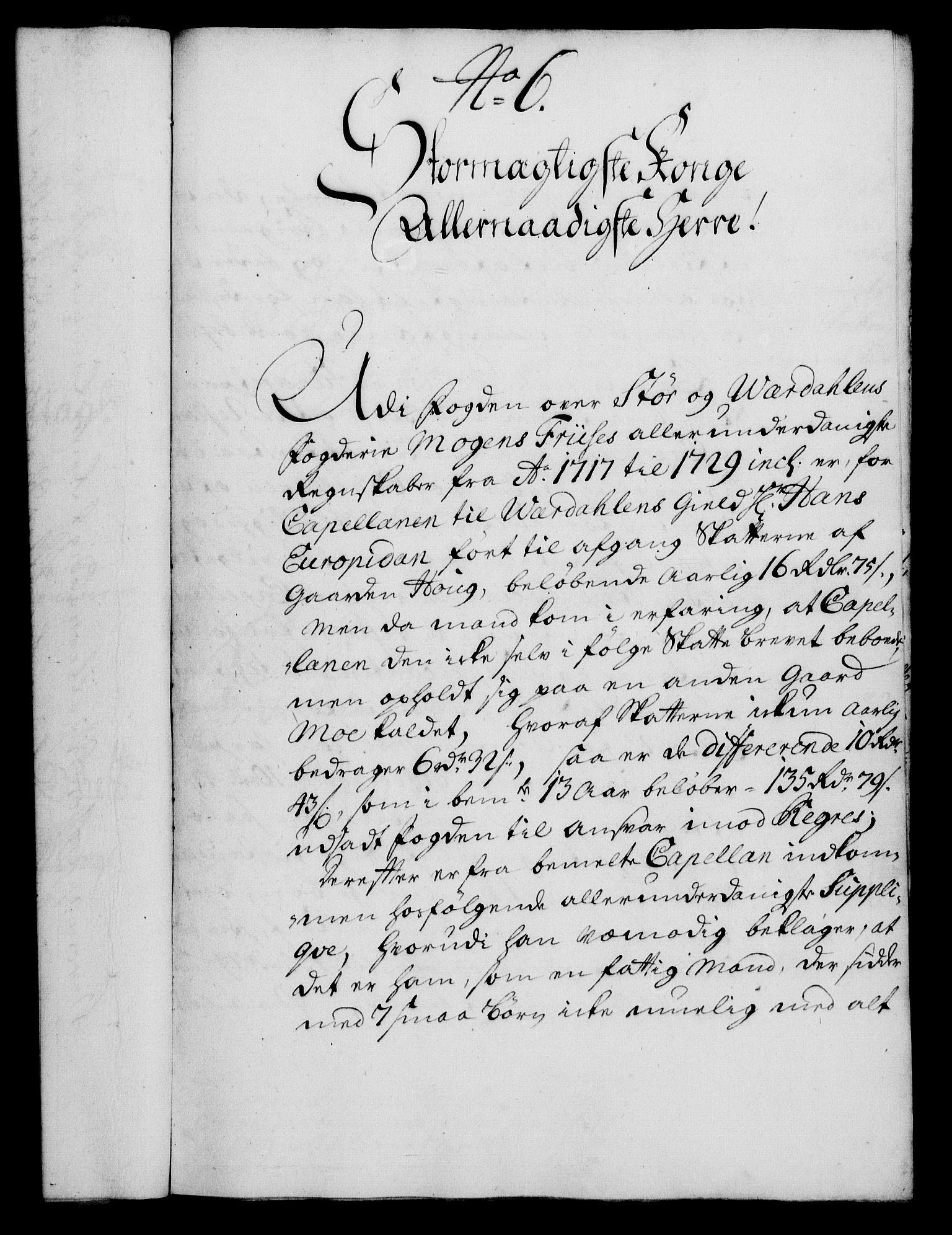 RA, Rentekammeret, Kammerkanselliet, G/Gf/Gfa/L0017: Norsk relasjons- og resolusjonsprotokoll (merket RK 52.17), 1734, s. 46