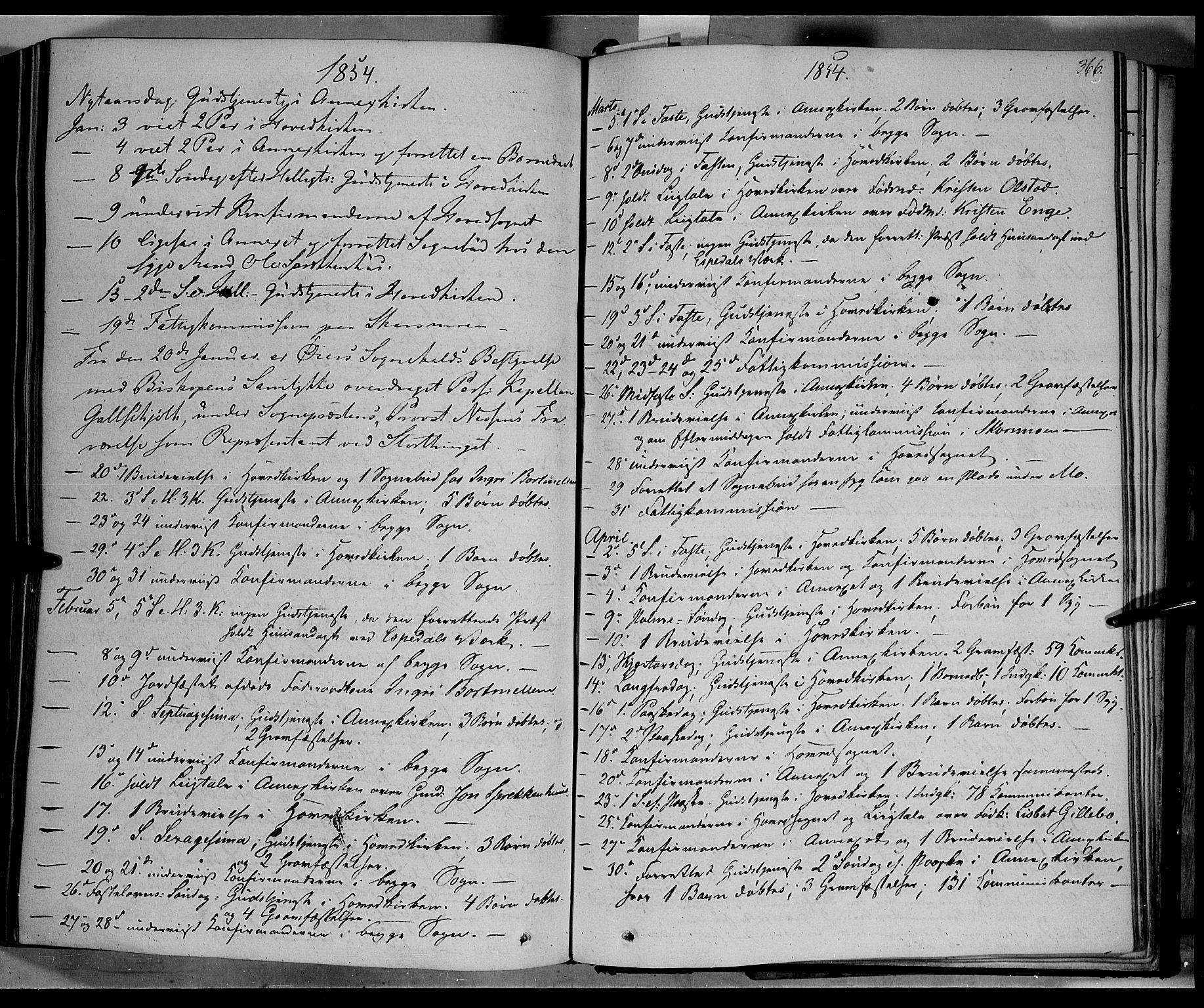 SAH, Øyer prestekontor, Ministerialbok nr. 5, 1842-1857, s. 366