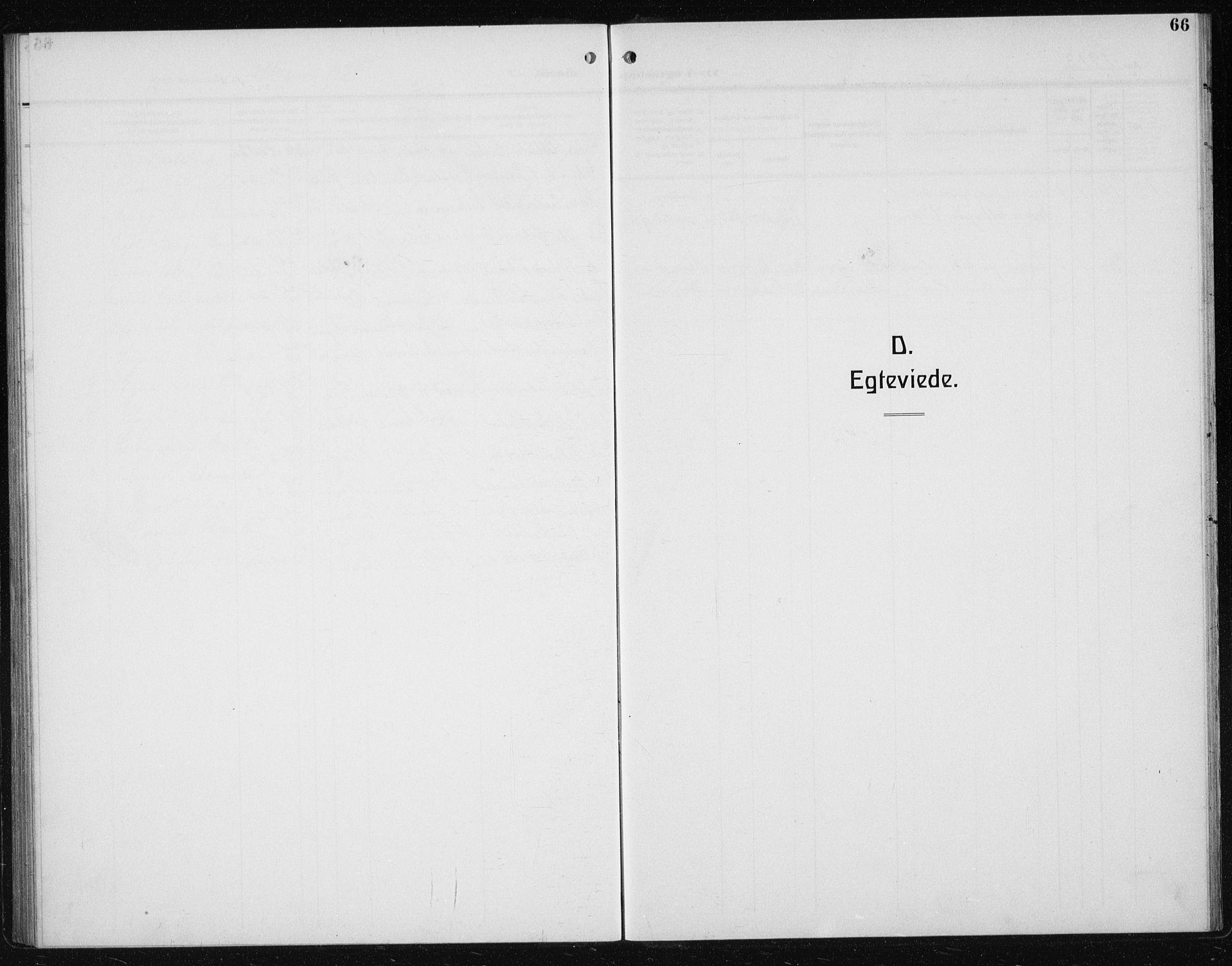 SAT, Ministerialprotokoller, klokkerbøker og fødselsregistre - Sør-Trøndelag, 608/L0342: Klokkerbok nr. 608C08, 1912-1938, s. 66