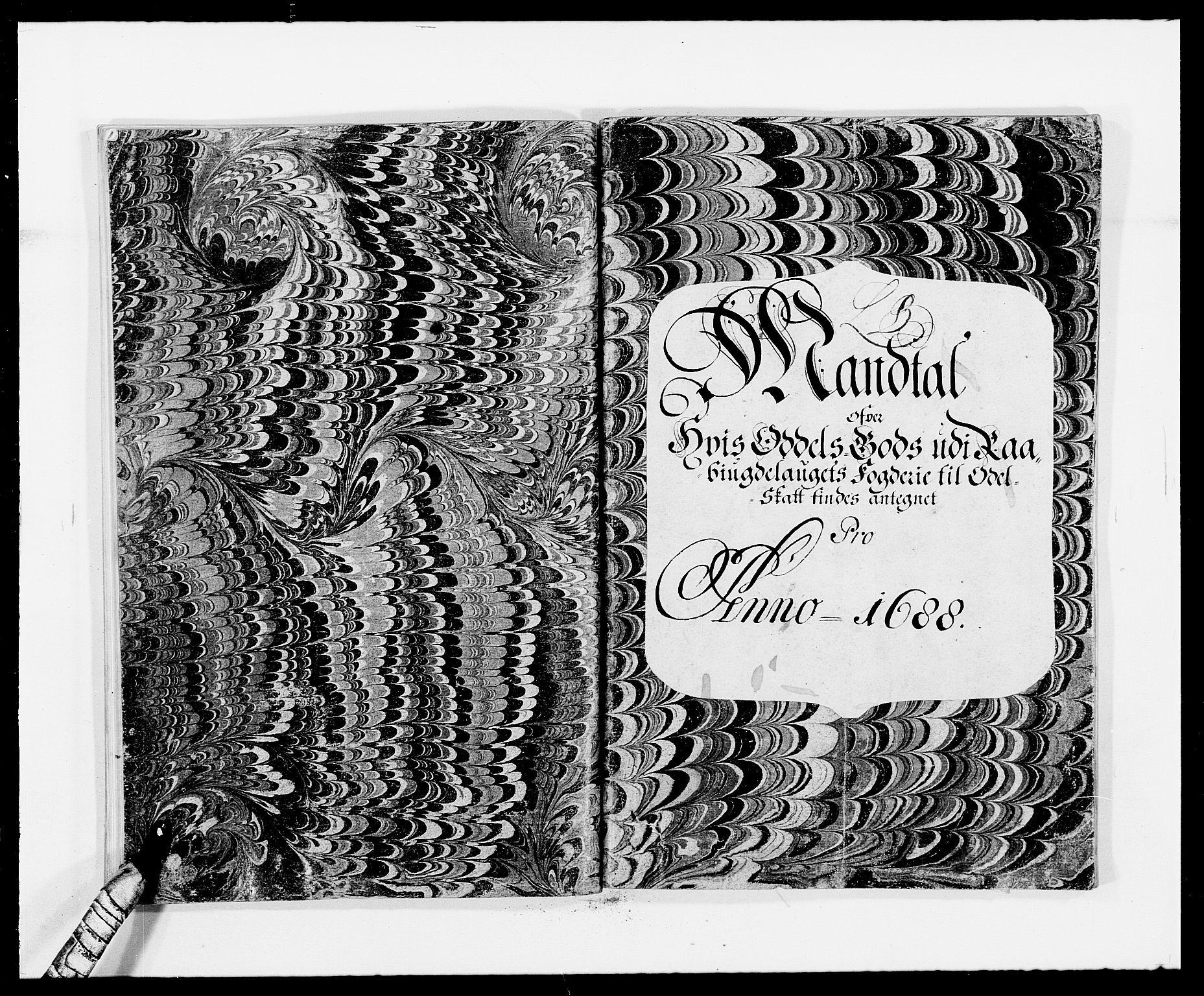 RA, Rentekammeret inntil 1814, Reviderte regnskaper, Fogderegnskap, R40/L2441: Fogderegnskap Råbyggelag, 1688, s. 45
