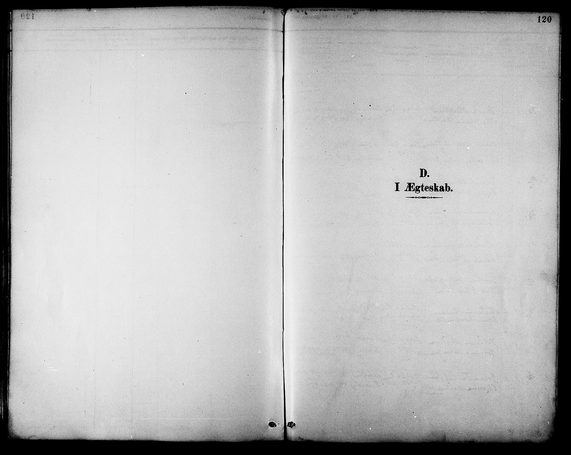 SAT, Ministerialprotokoller, klokkerbøker og fødselsregistre - Nordland, 892/L1320: Ministerialbok nr. 892A01, 1886-1901, s. 120