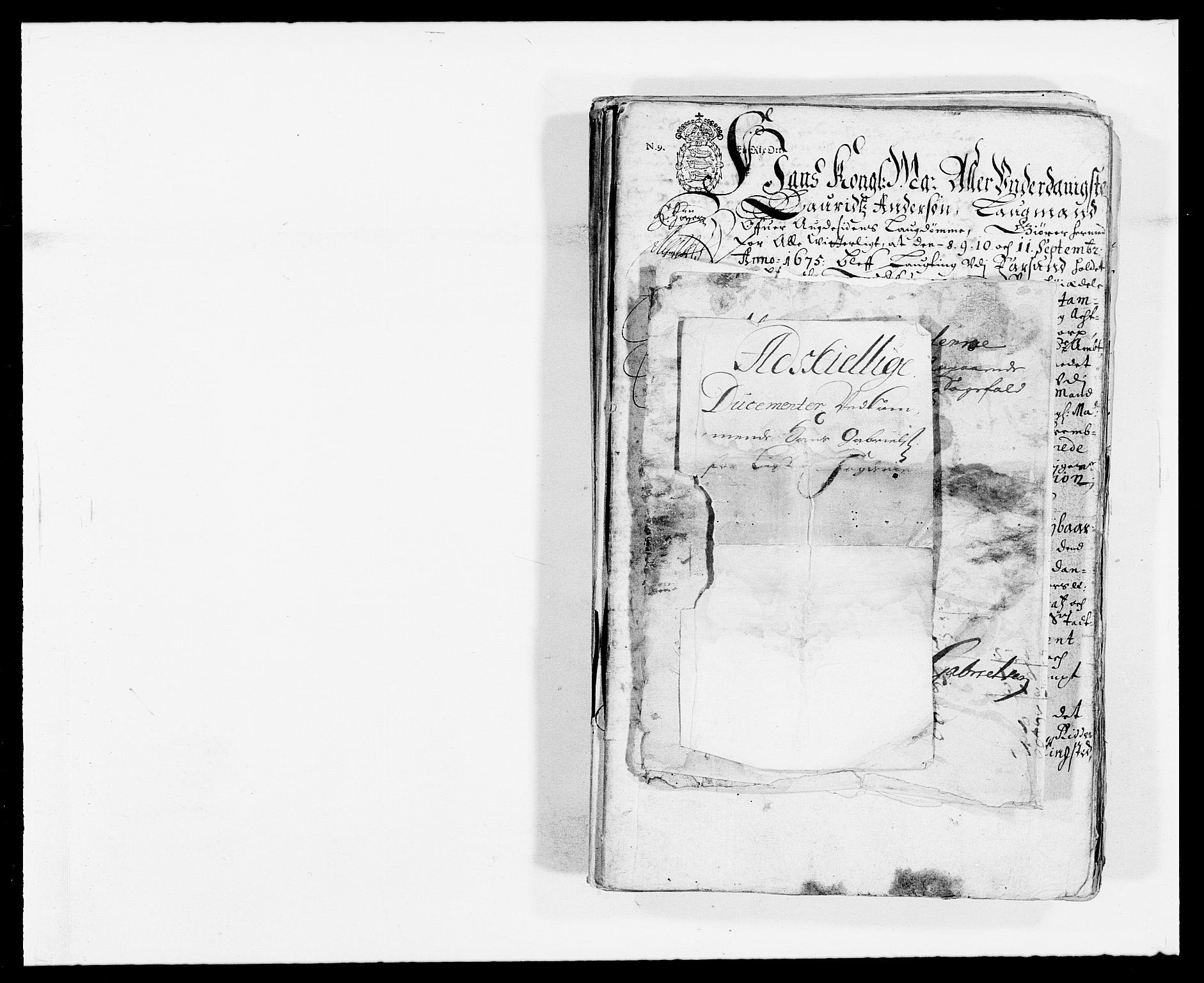 RA, Rentekammeret inntil 1814, Reviderte regnskaper, Fogderegnskap, R41/L2527: Fogderegnskap Lista, 1672, s. 1