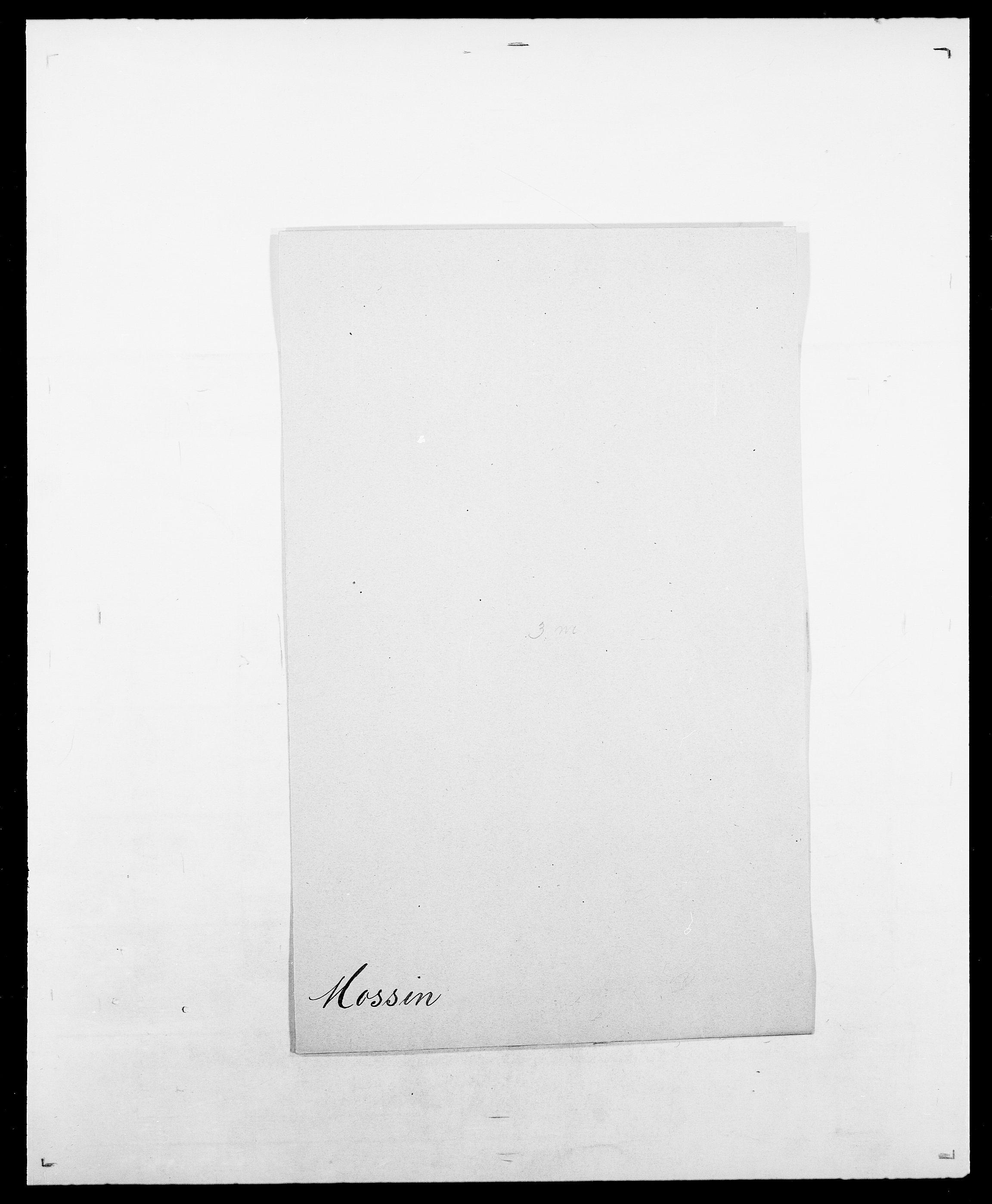 SAO, Delgobe, Charles Antoine - samling, D/Da/L0027: Morath - v. Møsting, s. 68