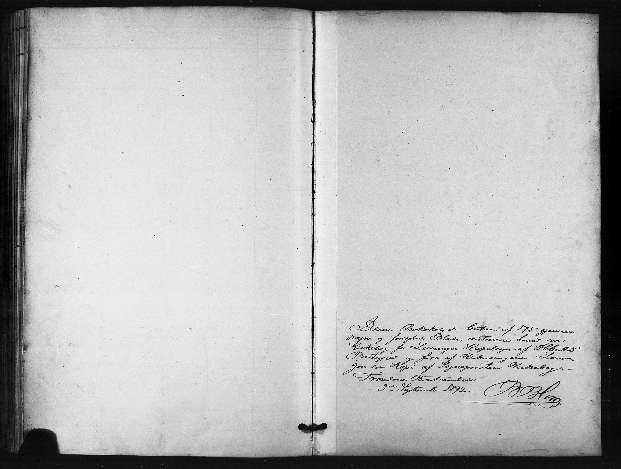 SATØ, Salangen sokneprestembete, H/Ha/L0001klokker: Klokkerbok nr. 1, 1893-1910