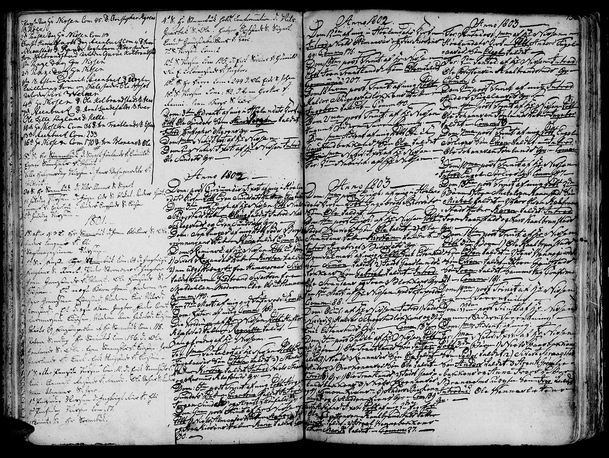 SAT, Ministerialprotokoller, klokkerbøker og fødselsregistre - Sør-Trøndelag, 691/L1064: Ministerialbok nr. 691A02 /4, 1768-1815, s. 156