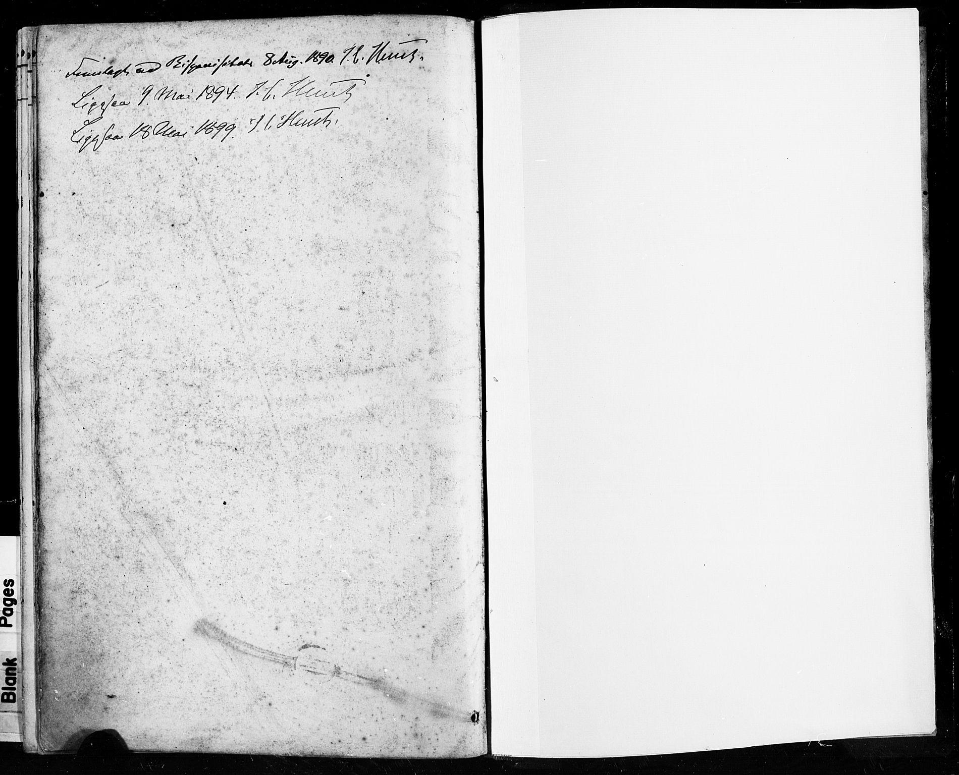 SAST, Høyland sokneprestkontor, 30BA/L0013: Ministerialbok nr. A 13.2, 1889-1898
