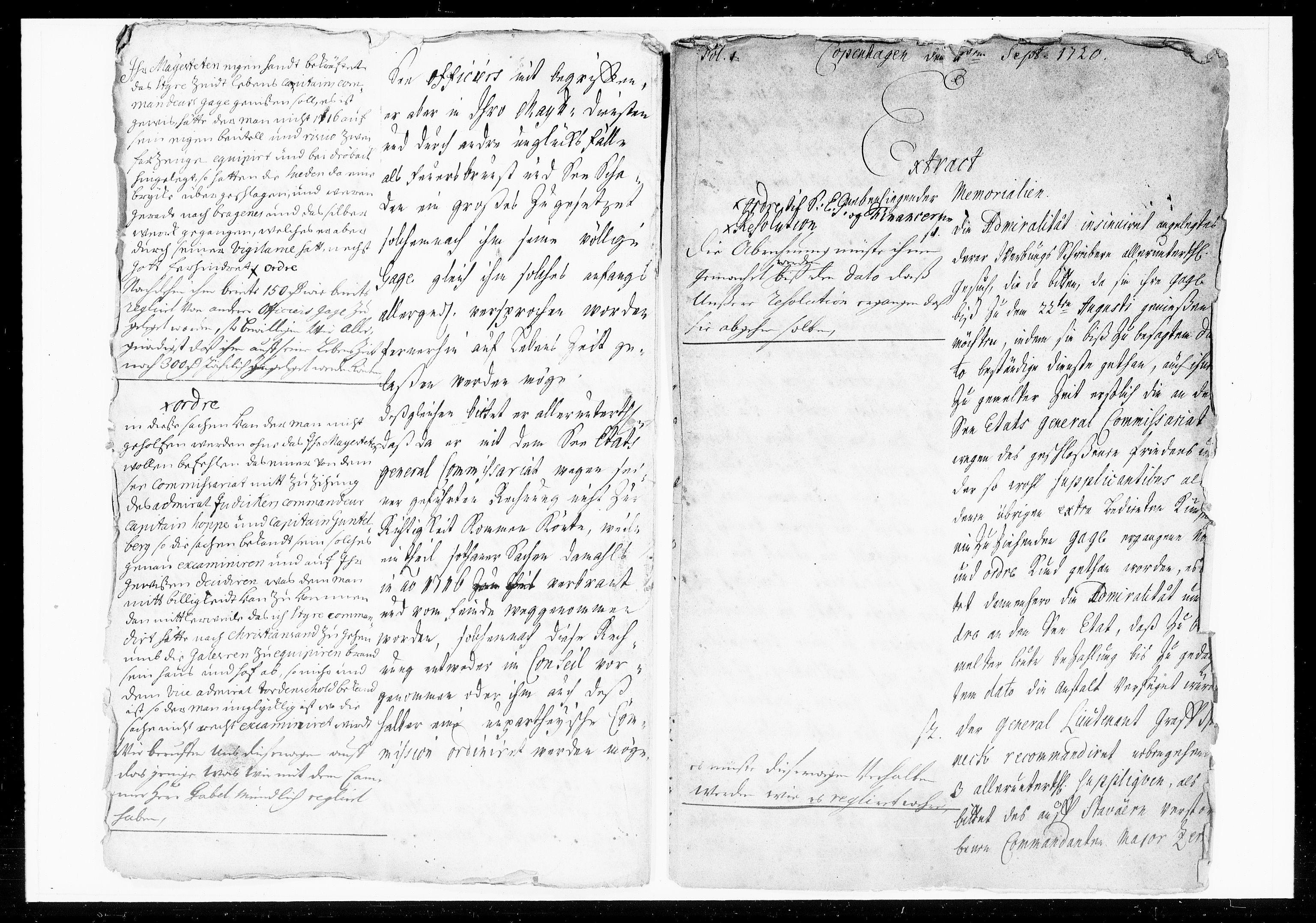 DRA, Krigskollegiet, Krigskancelliet, -/1057-1060: Refererede sager, 1720, s. 269