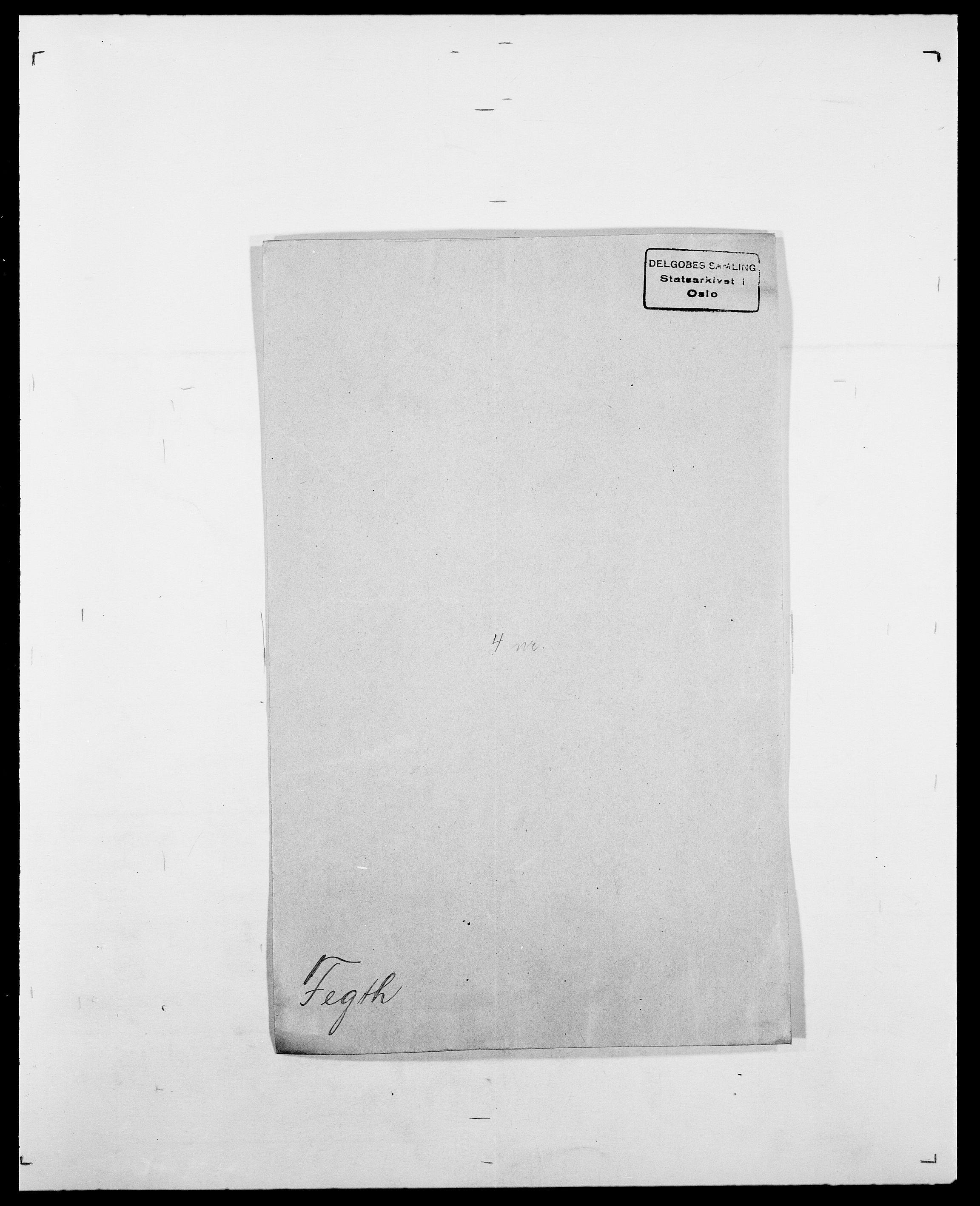 SAO, Delgobe, Charles Antoine - samling, D/Da/L0011: Fahlander - Flood, Flod, s. 298