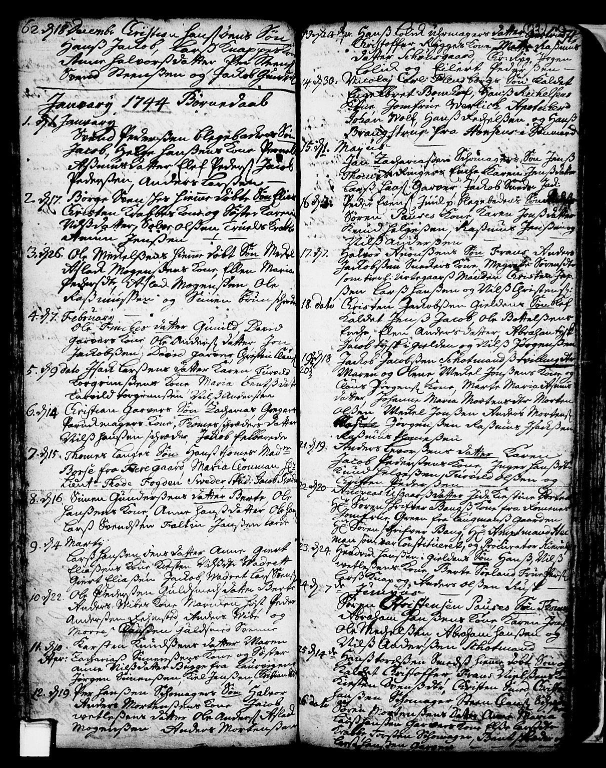 SAKO, Skien kirkebøker, F/Fa/L0002: Ministerialbok nr. 2, 1716-1757, s. 139