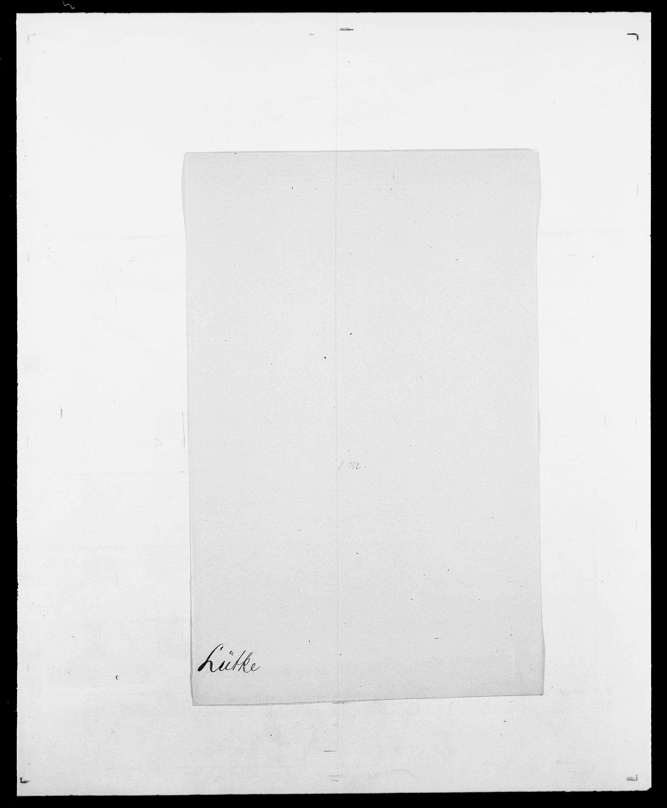 SAO, Delgobe, Charles Antoine - samling, D/Da/L0024: Lobech - Lærum, s. 790