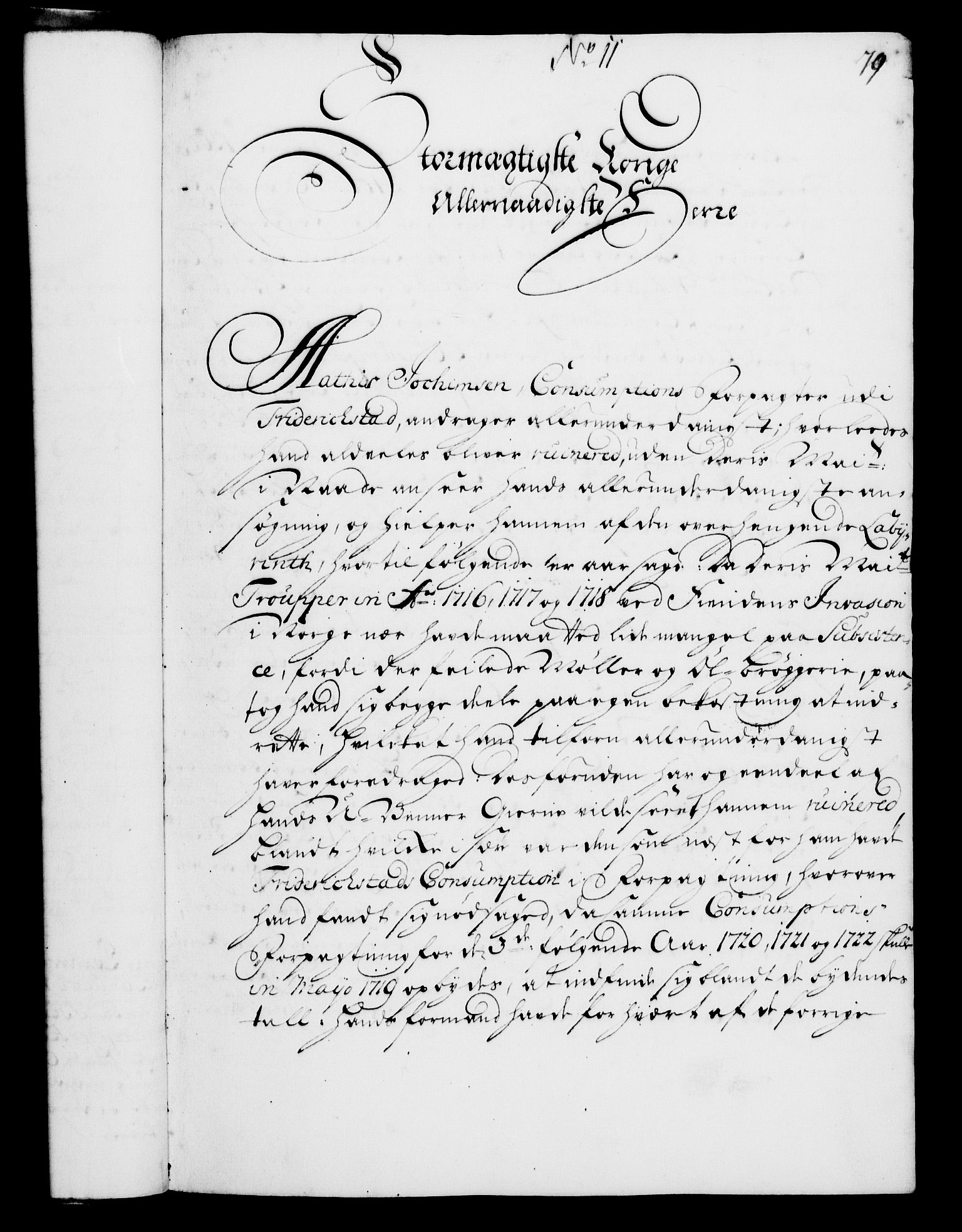 RA, Rentekammeret, Kammerkanselliet, G/Gf/Gfa/L0004: Norsk relasjons- og resolusjonsprotokoll (merket RK 52.4), 1721, s. 78