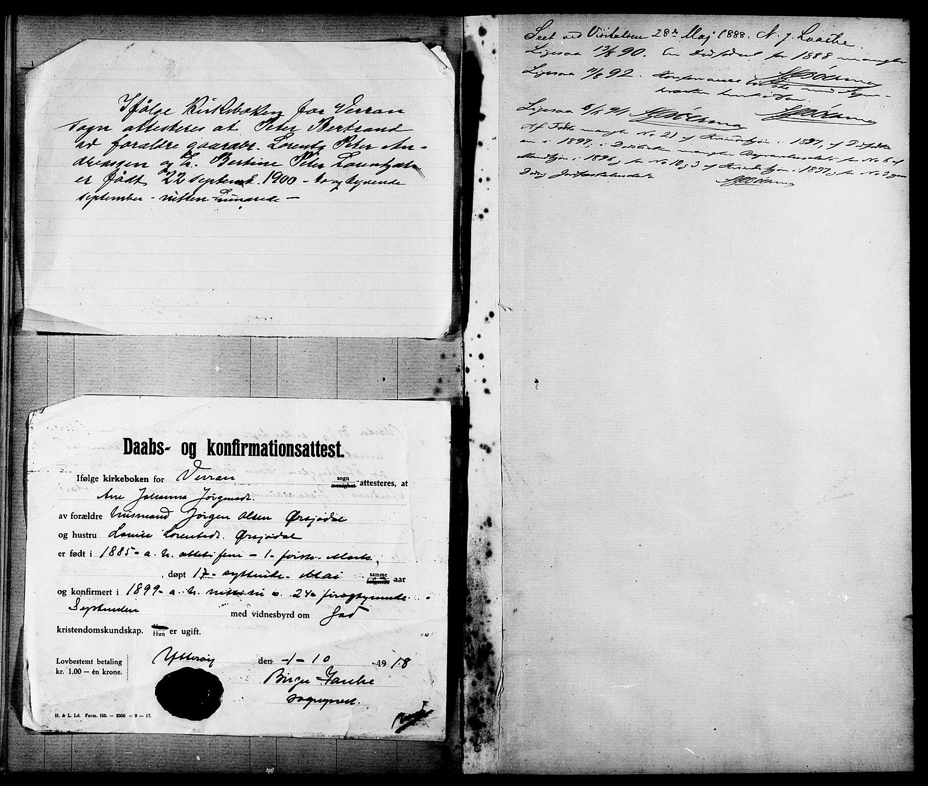 SAT, Ministerialprotokoller, klokkerbøker og fødselsregistre - Nord-Trøndelag, 744/L0423: Klokkerbok nr. 744C02, 1886-1905