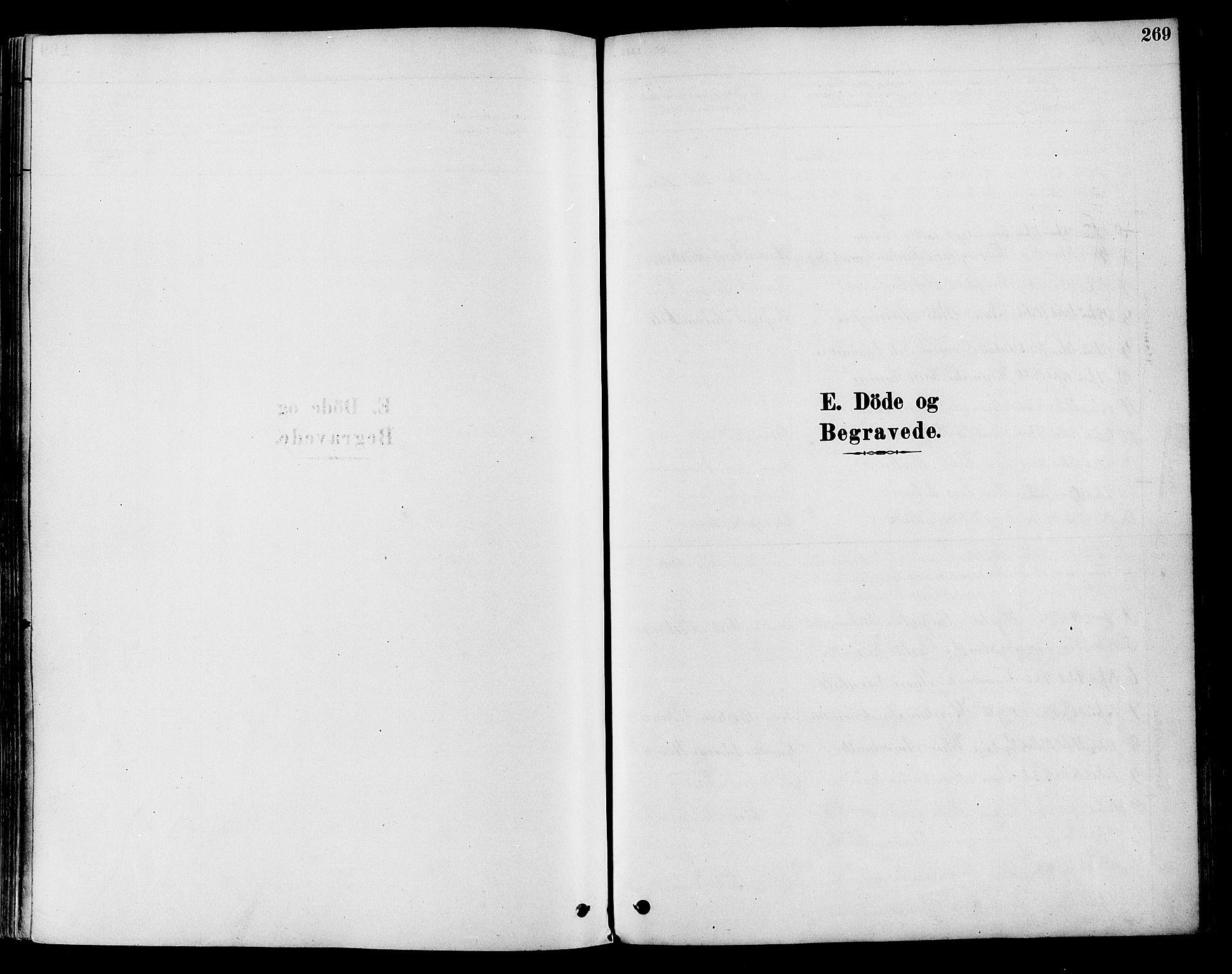 SAH, Vestre Toten prestekontor, Ministerialbok nr. 9, 1878-1894, s. 269
