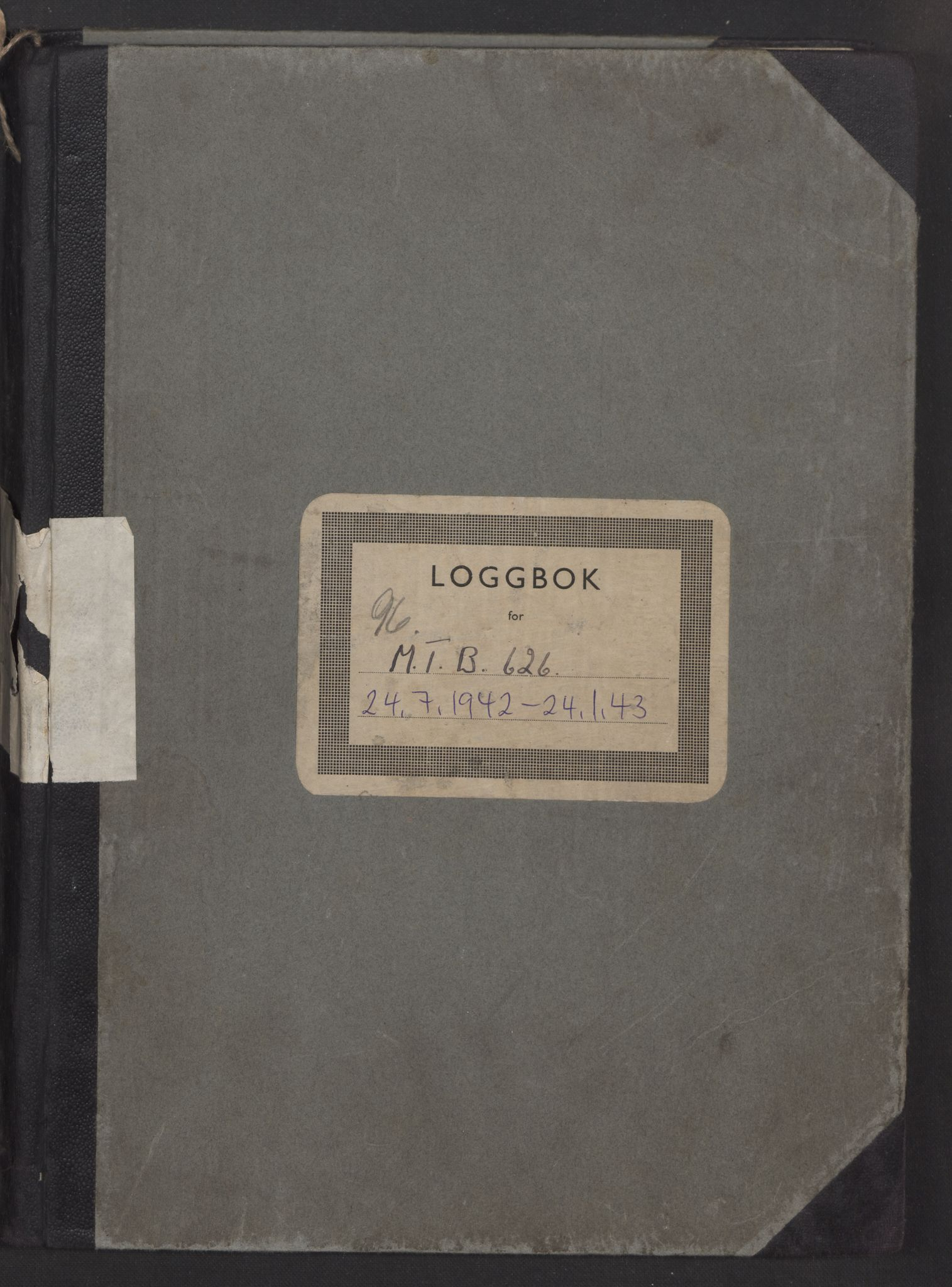 RA, Forsvaret, Sjøforsvarets fartøyer, Gm6/L0001: Loggbok, 1942-1943