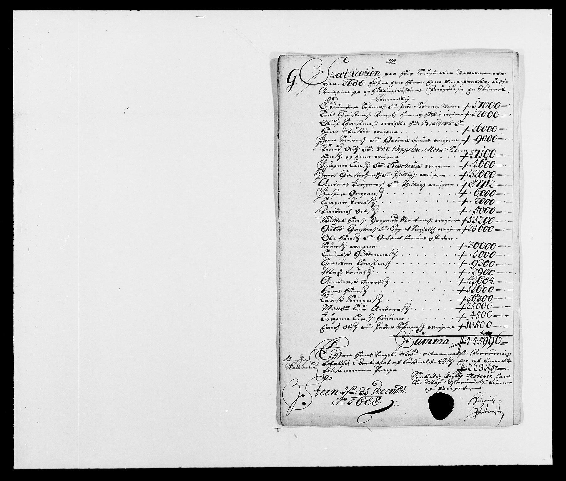 RA, Rentekammeret inntil 1814, Reviderte regnskaper, Fogderegnskap, R21/L1447: Fogderegnskap Ringerike og Hallingdal, 1687-1689, s. 179