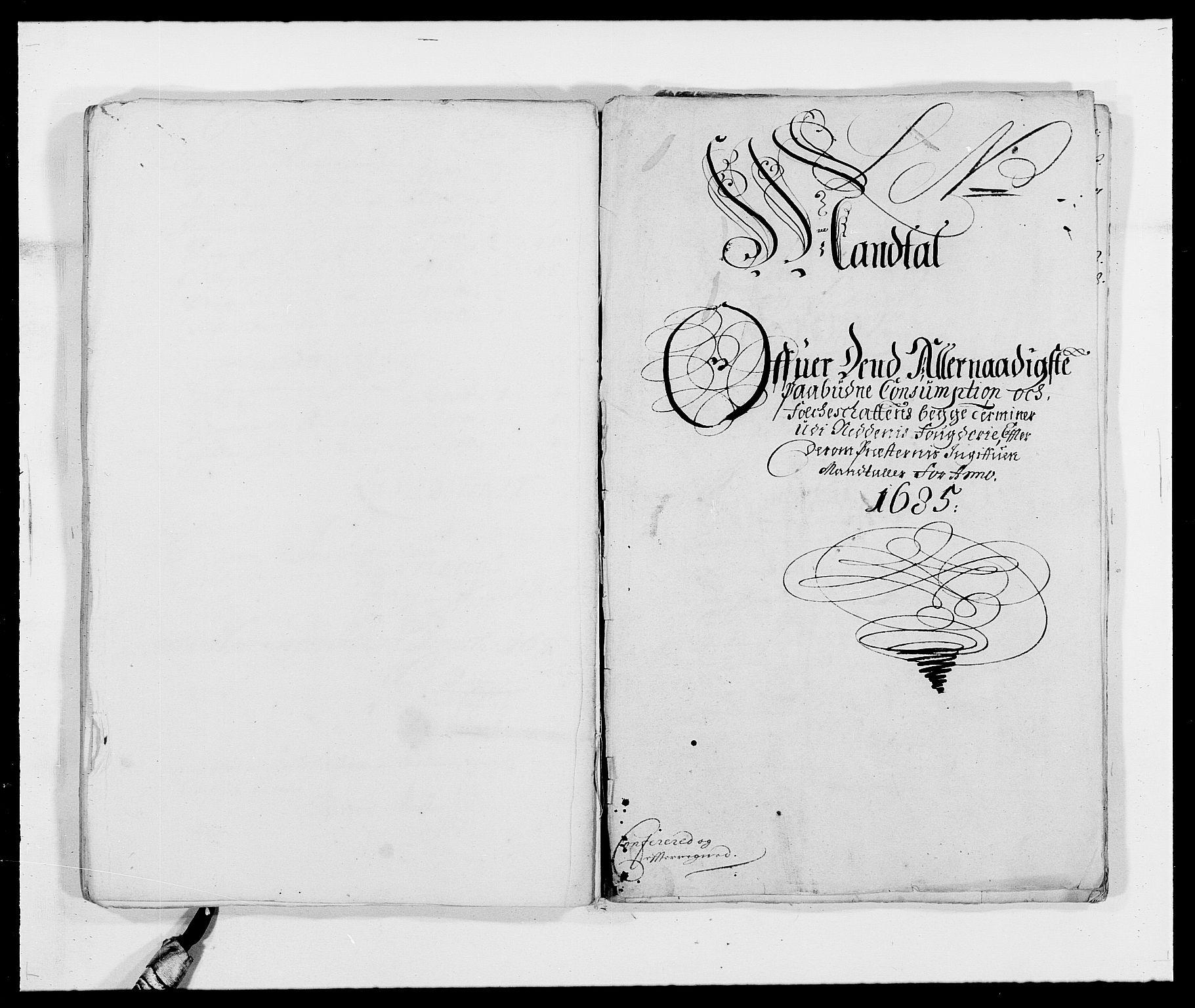 RA, Rentekammeret inntil 1814, Reviderte regnskaper, Fogderegnskap, R39/L2308: Fogderegnskap Nedenes, 1684-1689, s. 291