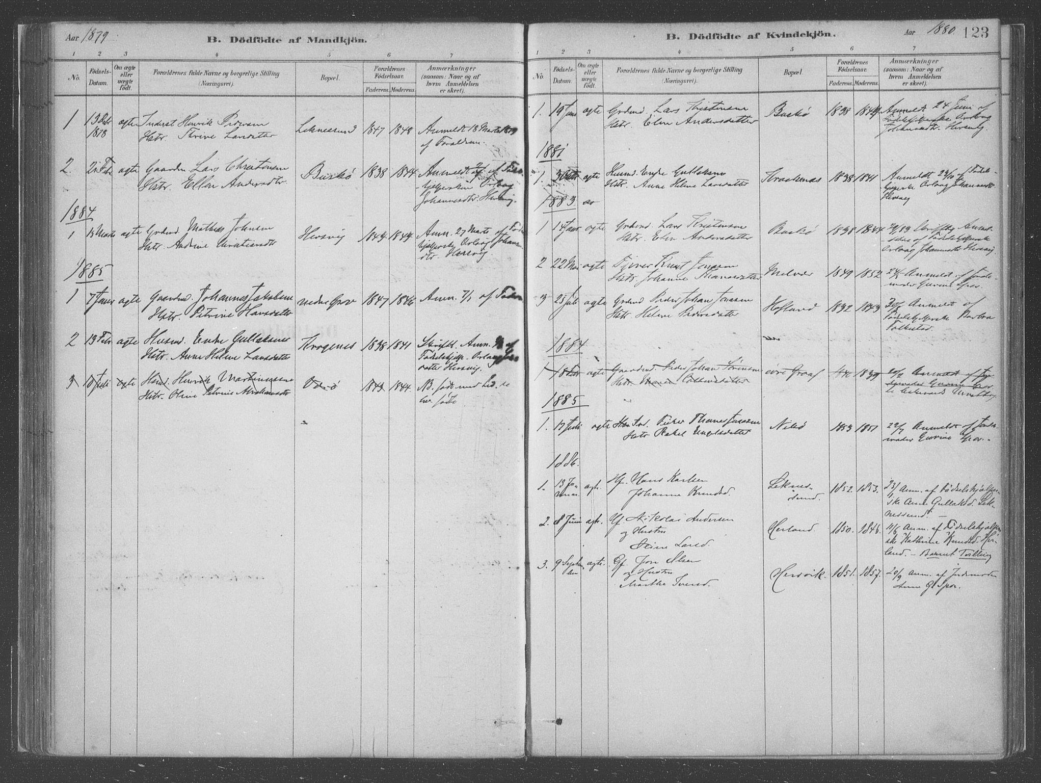 SAB, Askvoll Sokneprestembete, Ministerialbok nr. C  1, 1879-1922, s. 123