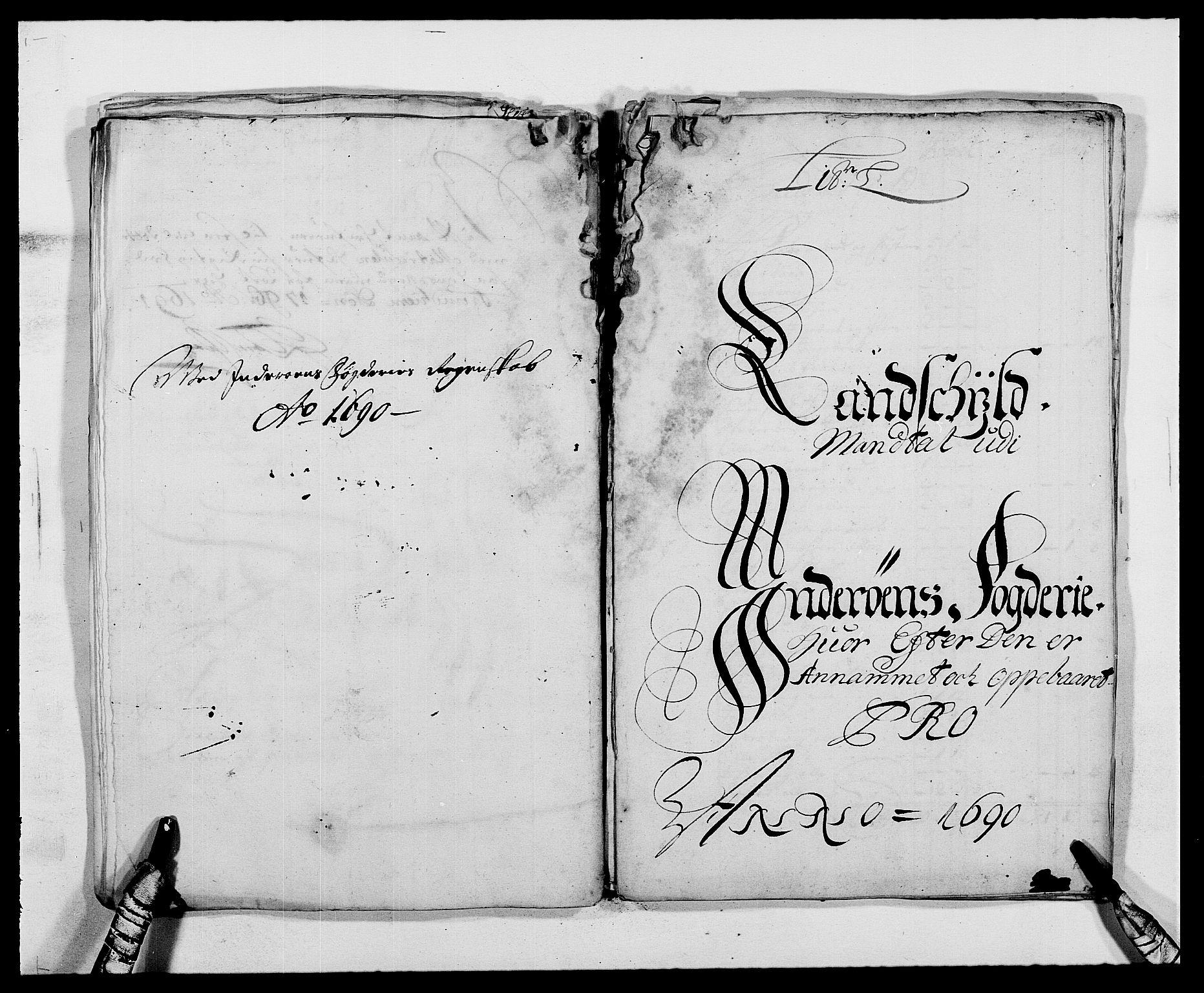 RA, Rentekammeret inntil 1814, Reviderte regnskaper, Fogderegnskap, R63/L4307: Fogderegnskap Inderøy, 1690-1691, s. 147