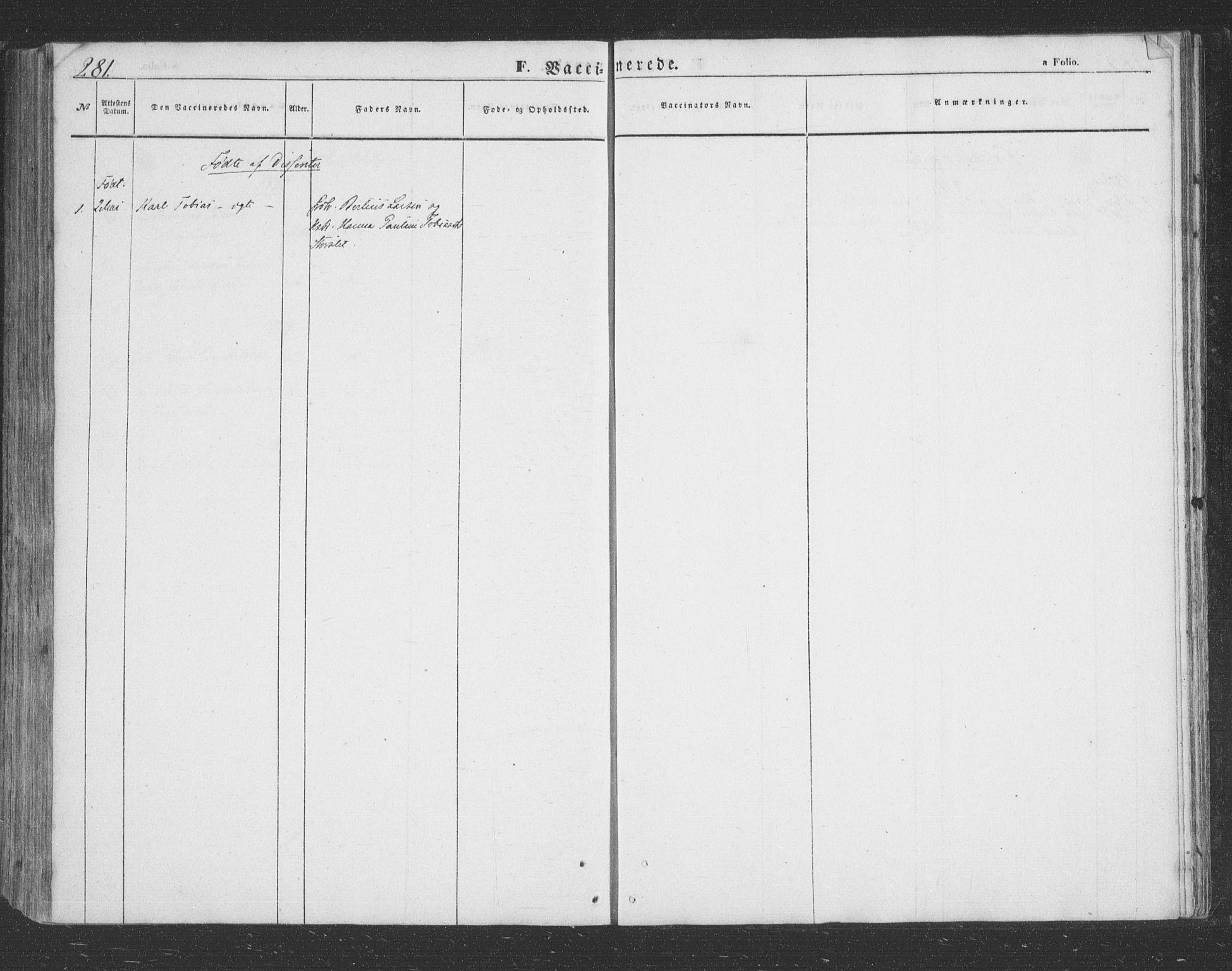 SATØ, Lenvik sokneprestembete, H/Ha: Klokkerbok nr. 20, 1855-1883, s. 281