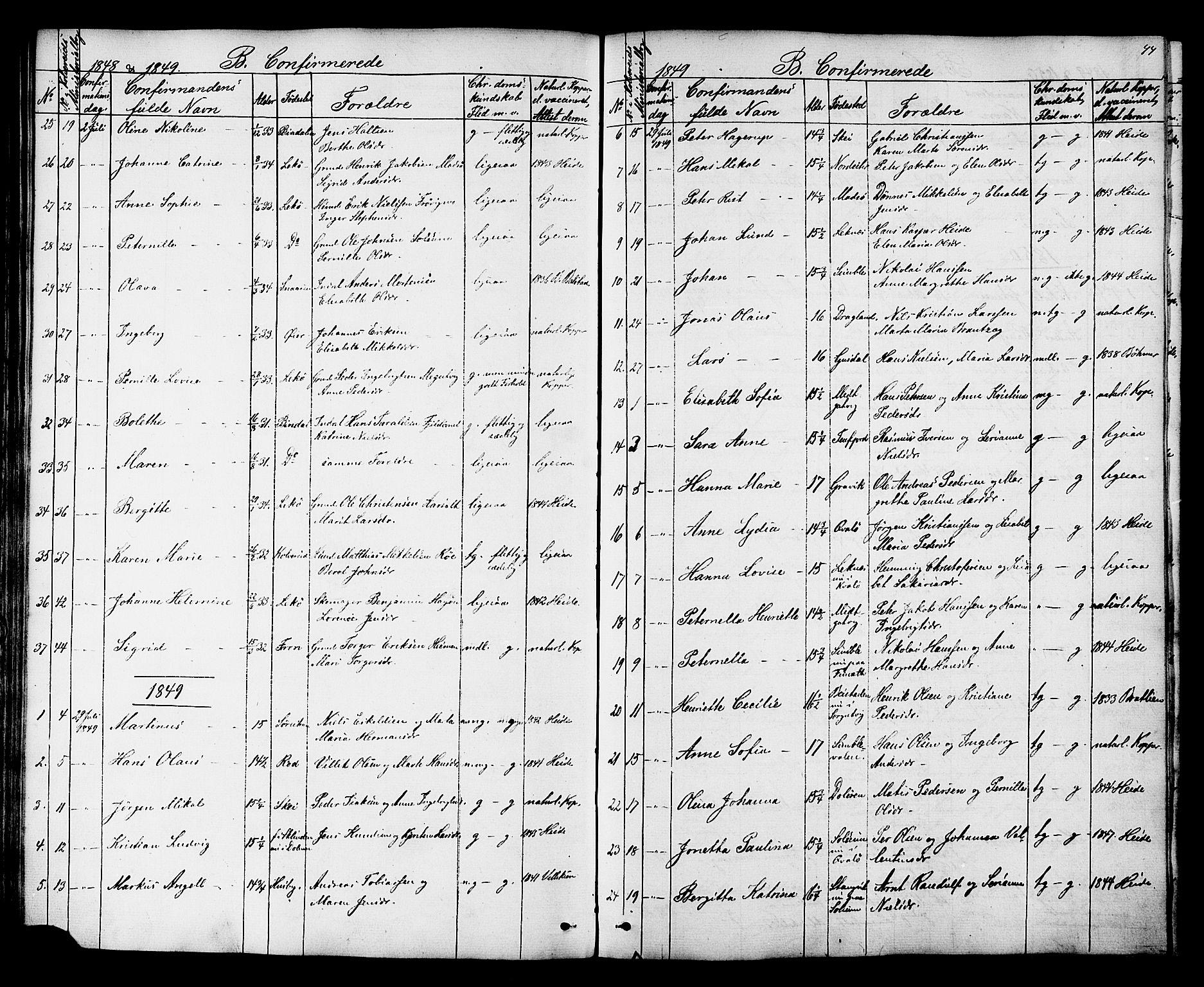 SAT, Ministerialprotokoller, klokkerbøker og fødselsregistre - Nord-Trøndelag, 788/L0695: Ministerialbok nr. 788A02, 1843-1862, s. 44