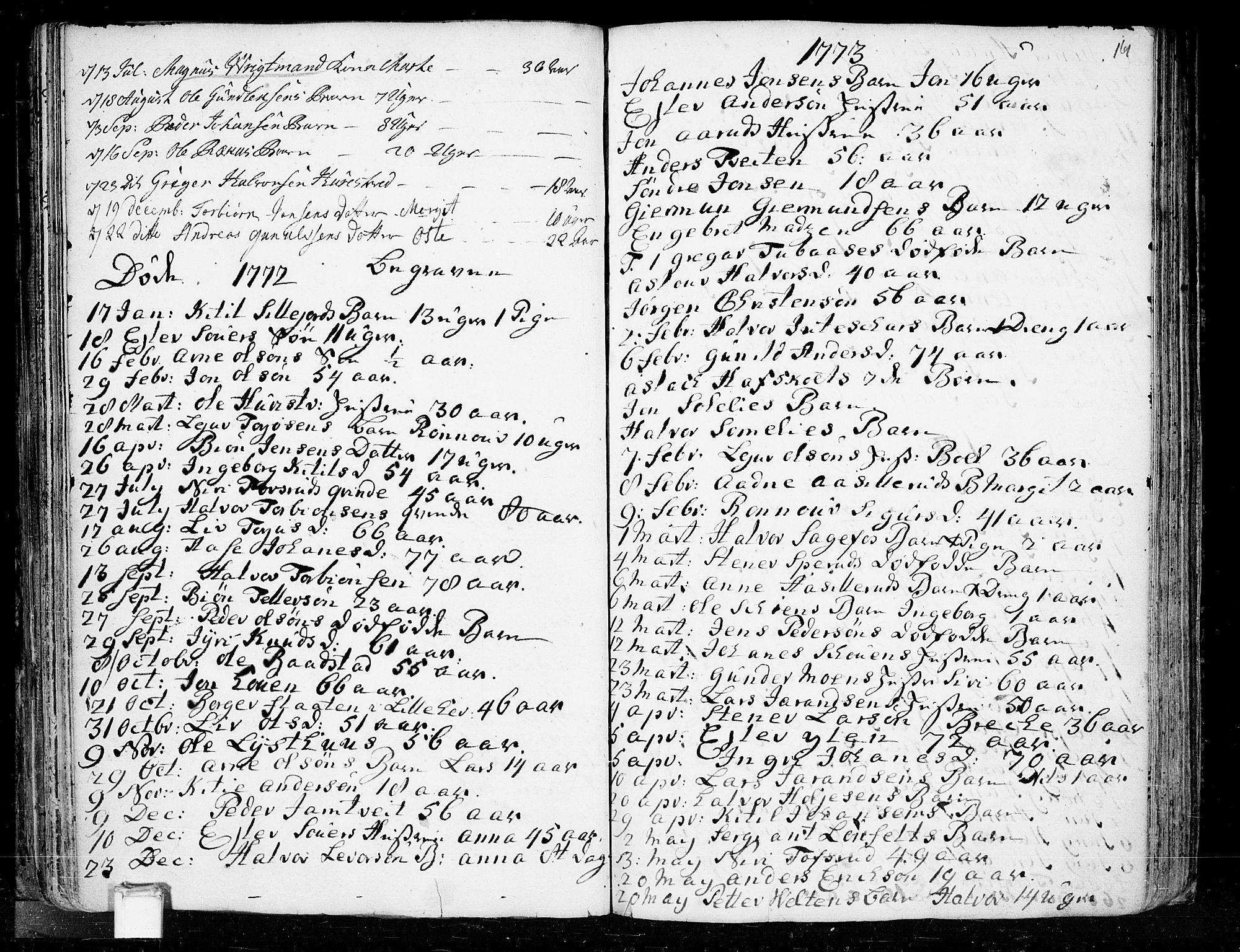 SAKO, Heddal kirkebøker, F/Fa/L0003: Ministerialbok nr. I 3, 1723-1783, s. 161