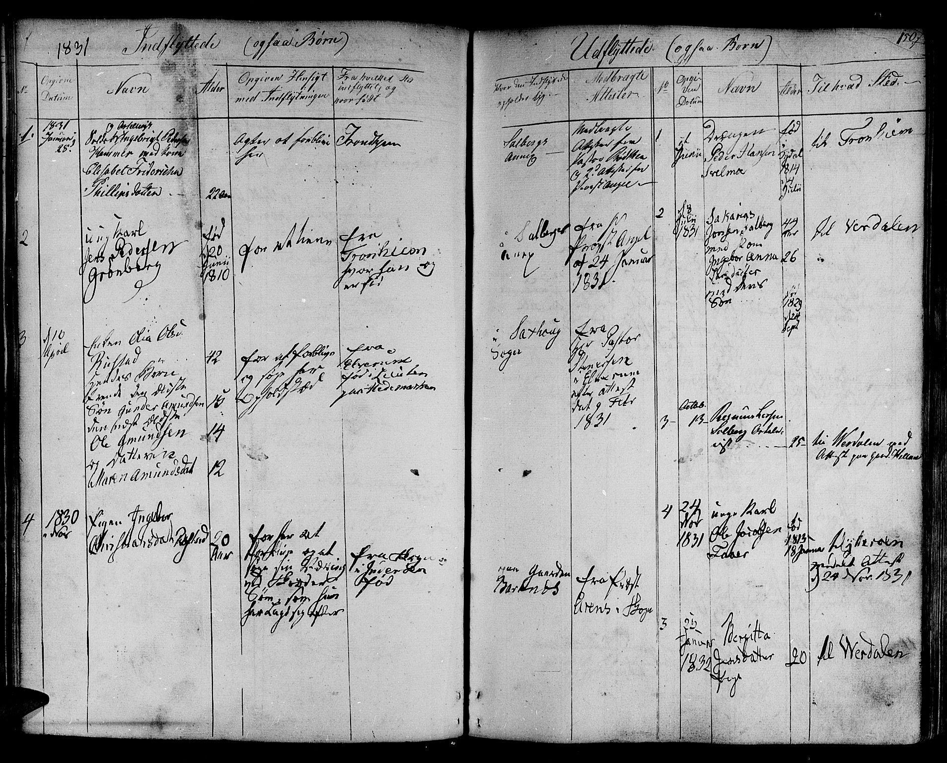 SAT, Ministerialprotokoller, klokkerbøker og fødselsregistre - Nord-Trøndelag, 730/L0277: Ministerialbok nr. 730A06 /1, 1830-1839, s. 150