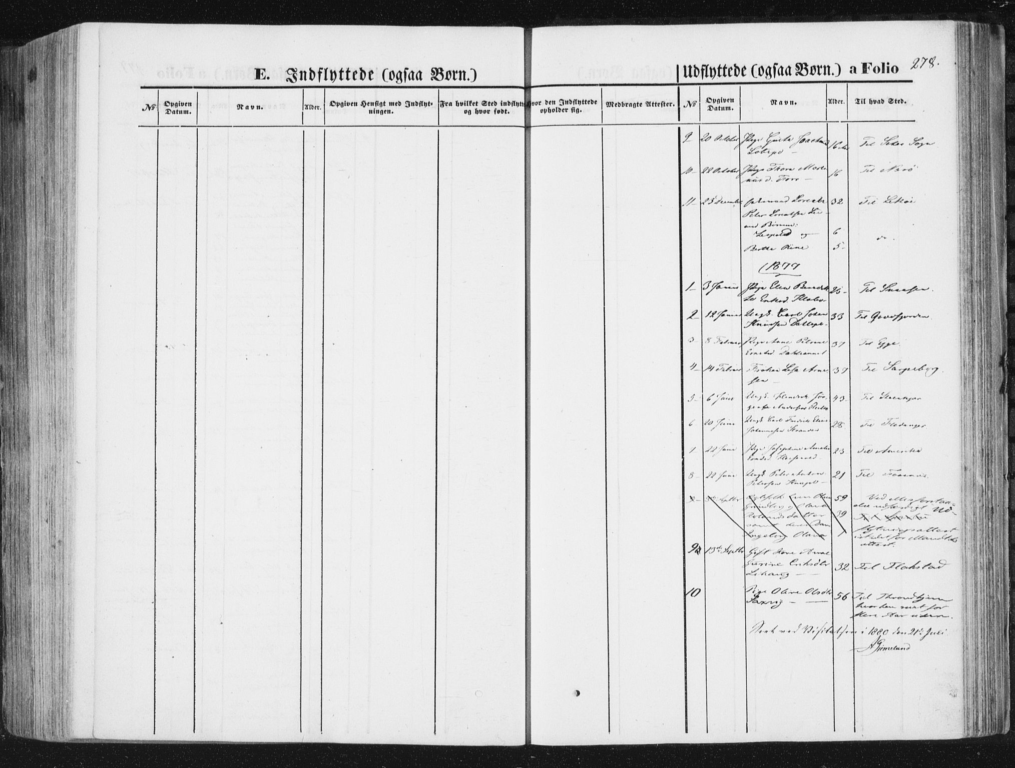 SAT, Ministerialprotokoller, klokkerbøker og fødselsregistre - Nord-Trøndelag, 746/L0447: Ministerialbok nr. 746A06, 1860-1877, s. 278