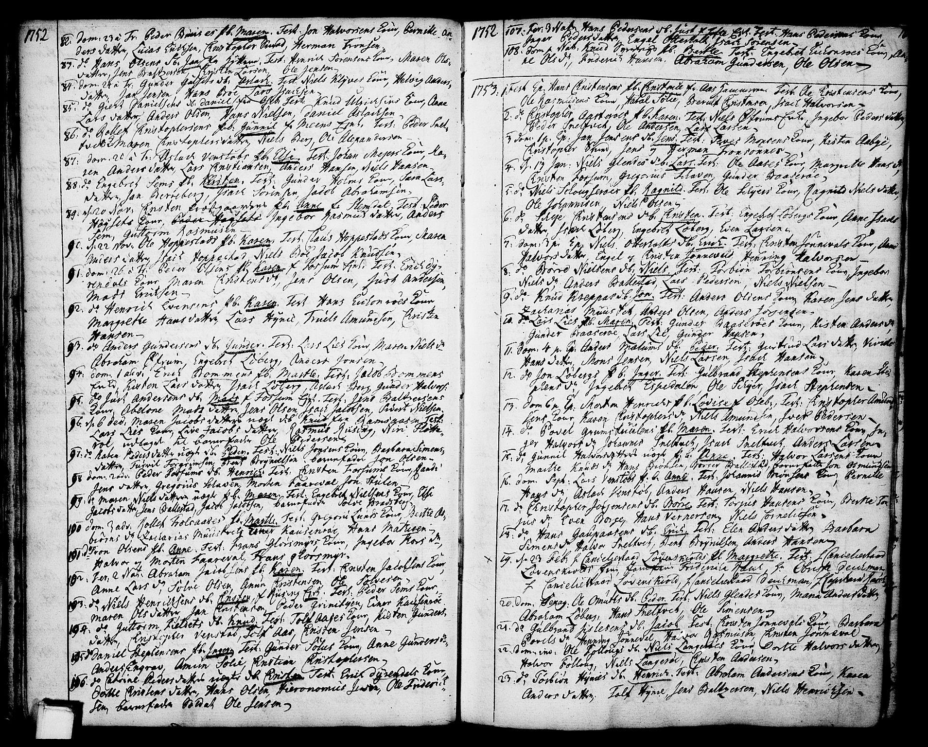 SAKO, Gjerpen kirkebøker, F/Fa/L0002: Ministerialbok nr. 2, 1747-1795, s. 16