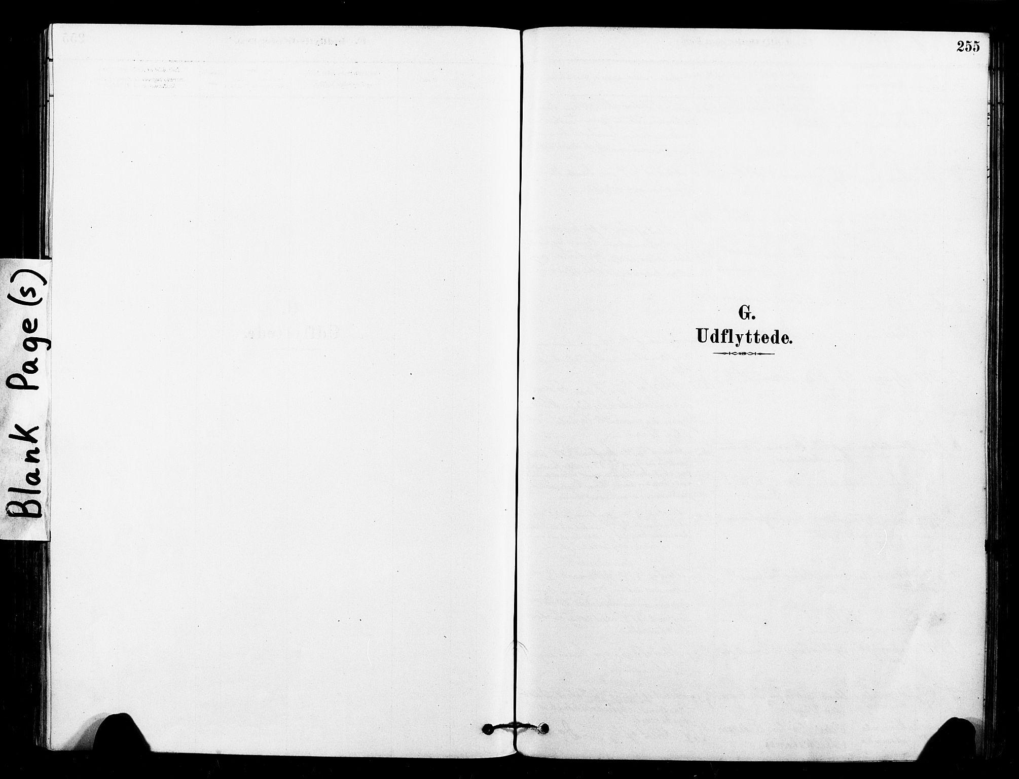 SAT, Ministerialprotokoller, klokkerbøker og fødselsregistre - Sør-Trøndelag, 640/L0578: Ministerialbok nr. 640A03, 1879-1889, s. 255