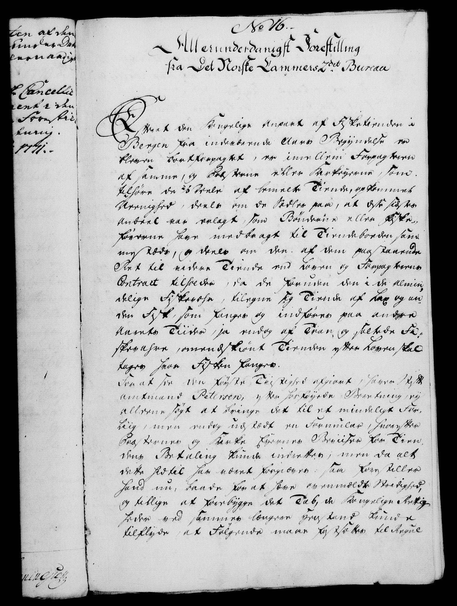 RA, Rentekammeret, Kammerkanselliet, G/Gf/Gfa/L0054: Norsk relasjons- og resolusjonsprotokoll (merket RK 52.54), 1771-1772, s. 68