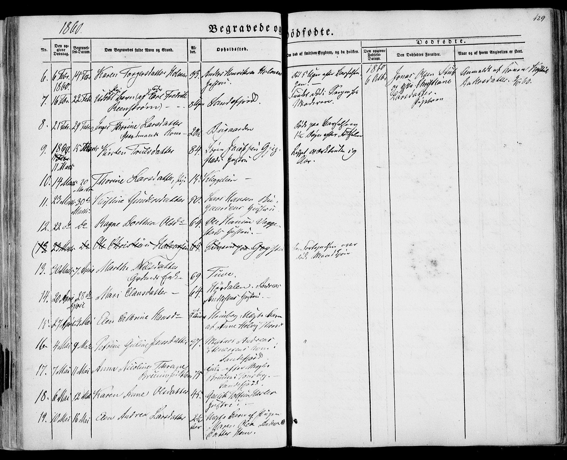 SAKO, Sandar kirkebøker, F/Fa/L0007: Ministerialbok nr. 7, 1855-1861, s. 429