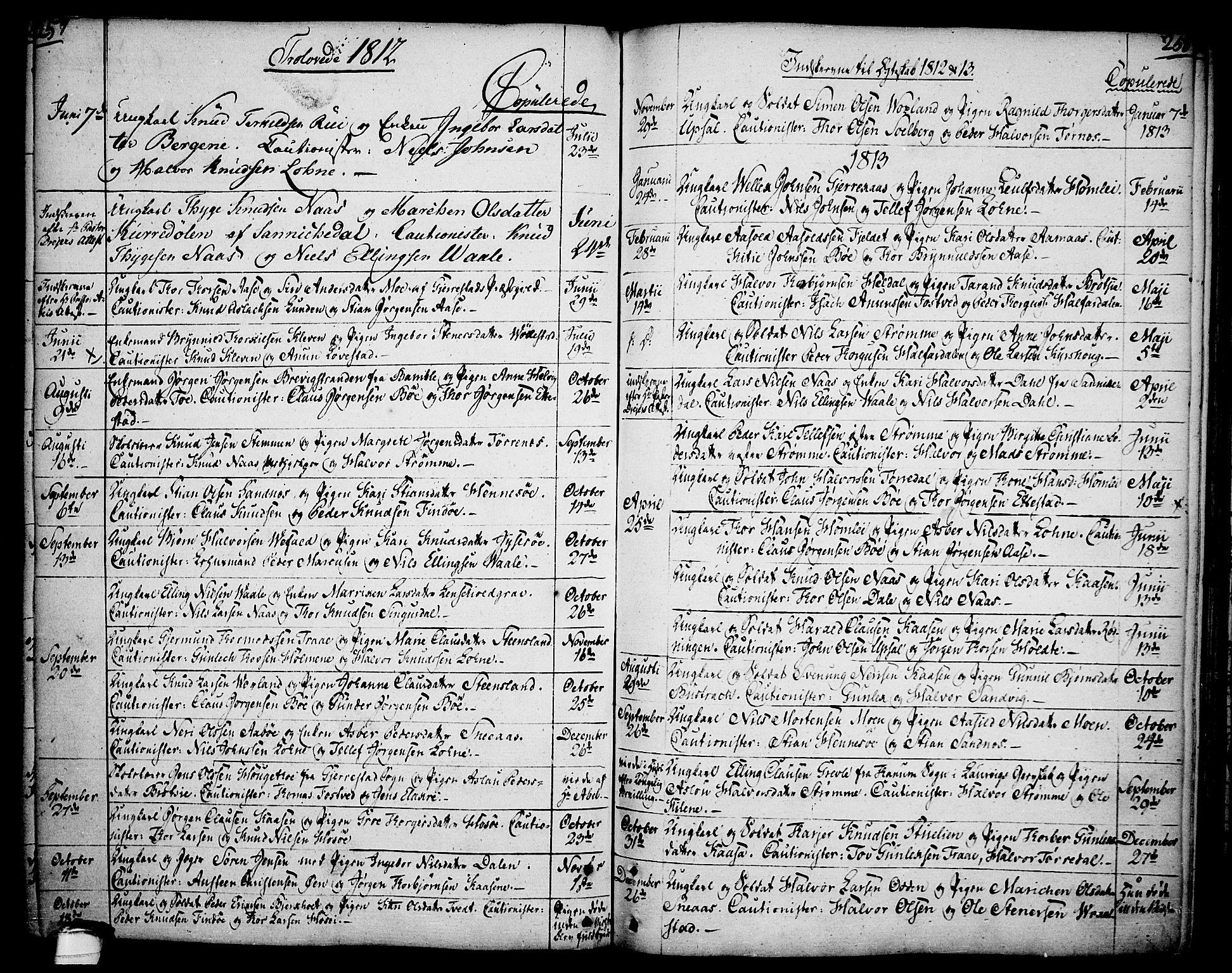 SAKO, Drangedal kirkebøker, F/Fa/L0003: Ministerialbok nr. 3, 1768-1814, s. 257-258