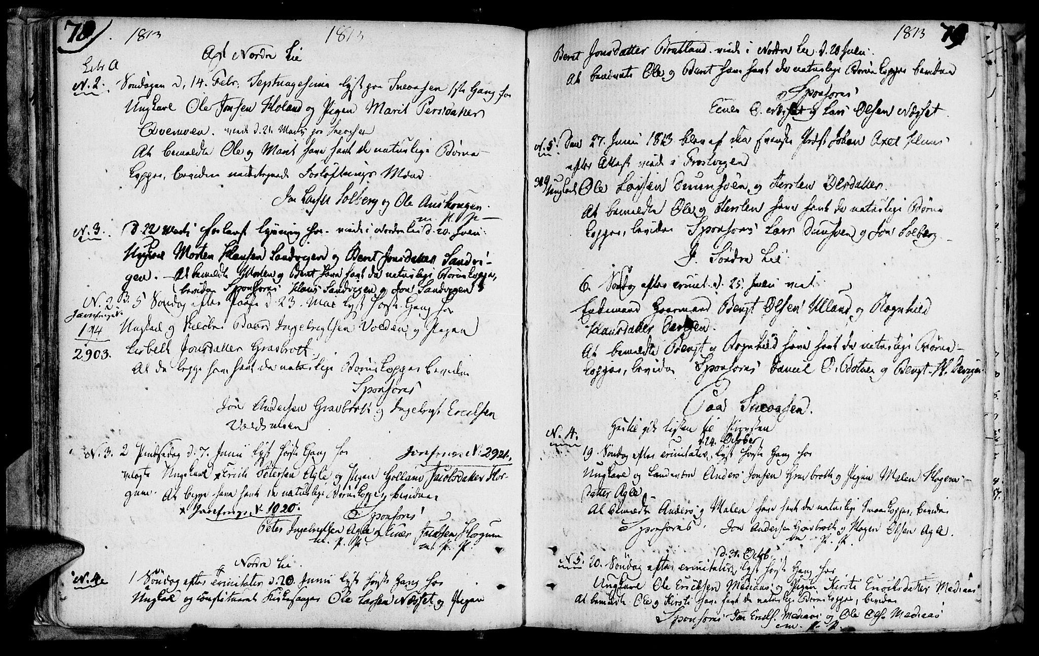SAT, Ministerialprotokoller, klokkerbøker og fødselsregistre - Nord-Trøndelag, 749/L0468: Ministerialbok nr. 749A02, 1787-1817, s. 78-79