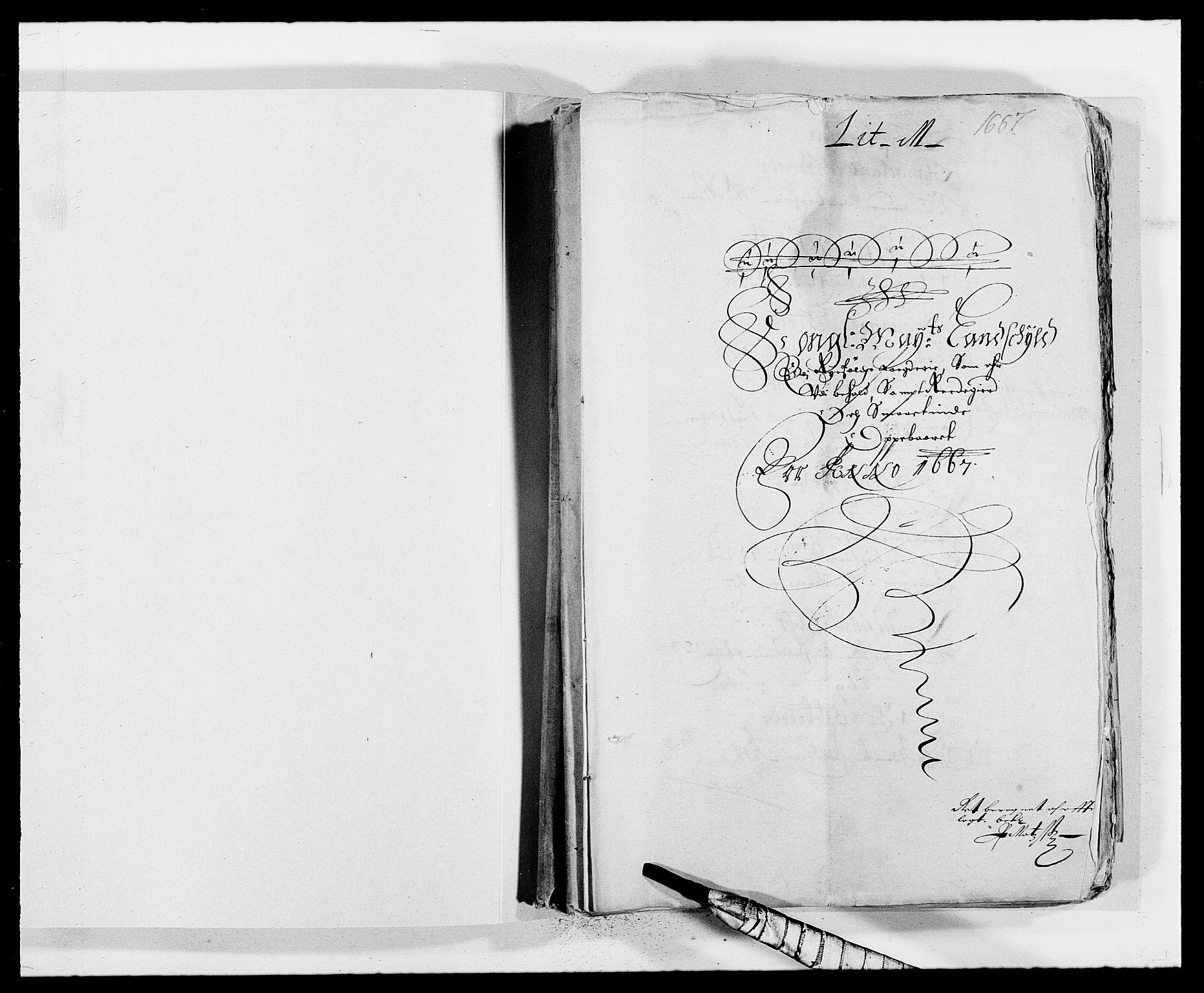 RA, Rentekammeret inntil 1814, Reviderte regnskaper, Fogderegnskap, R47/L2841: Fogderegnskap Ryfylke, 1665-1669, s. 2