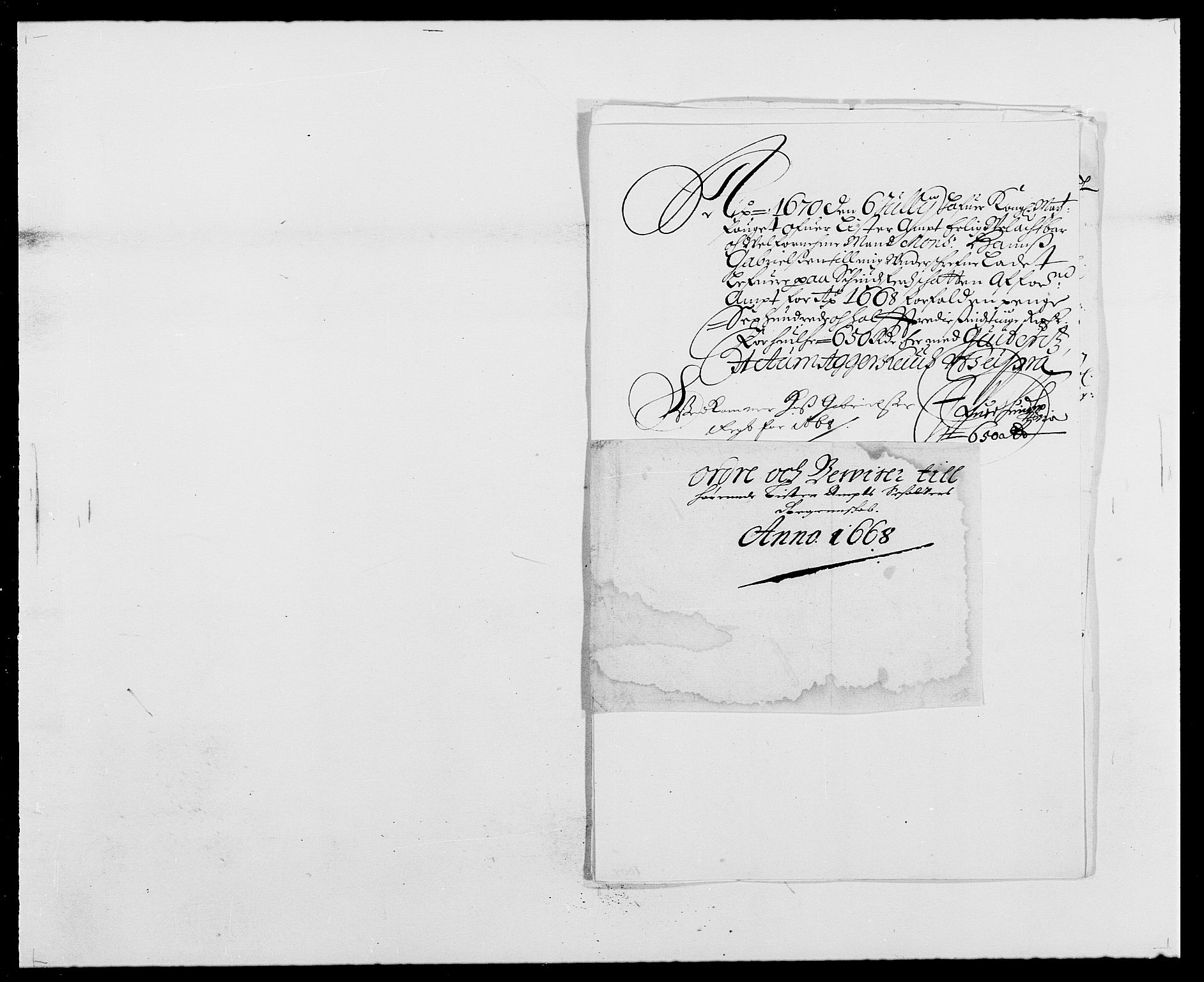 RA, Rentekammeret inntil 1814, Reviderte regnskaper, Fogderegnskap, R41/L2524: Fogderegnskap Lista, 1665-1668, s. 413
