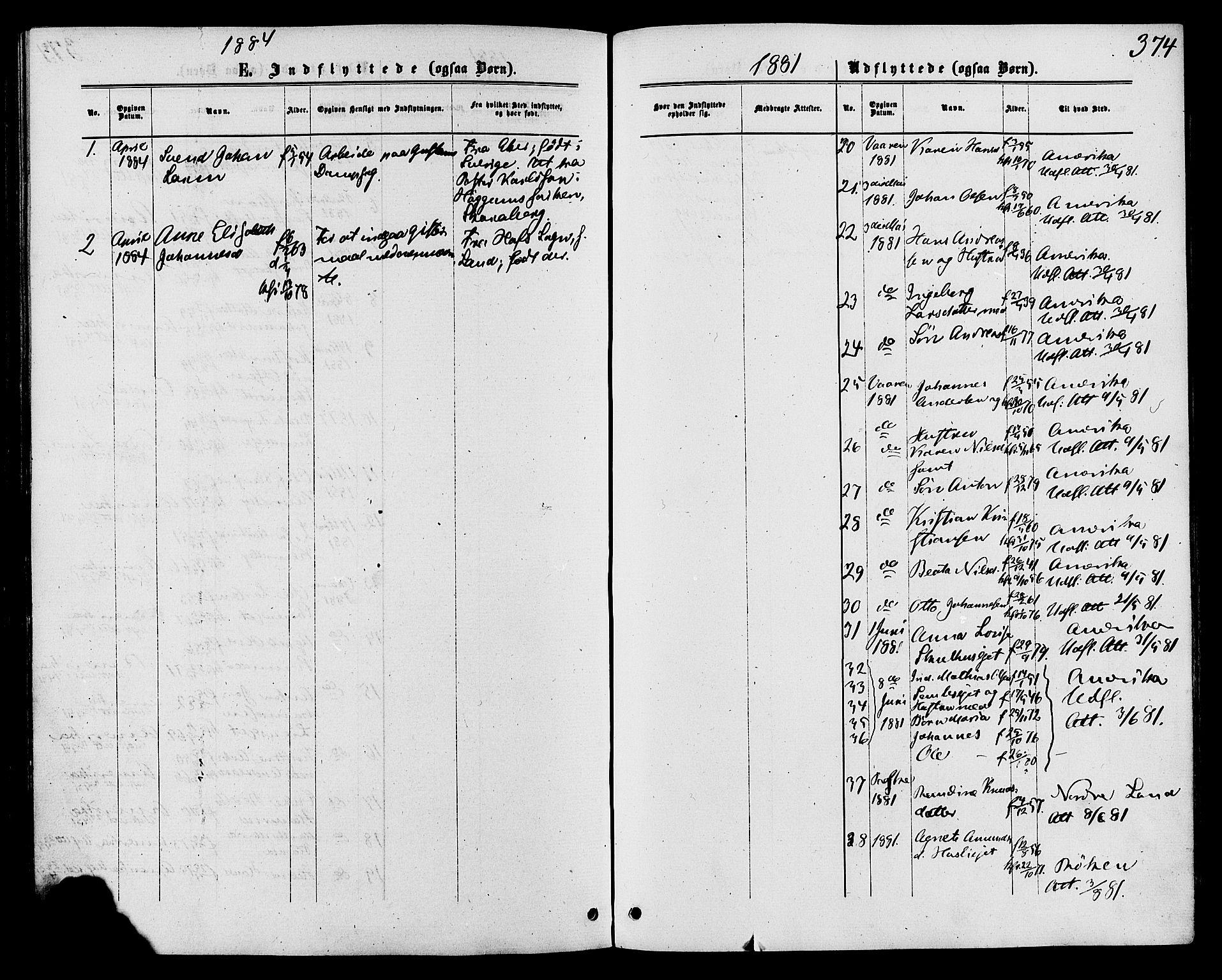 SAH, Biri prestekontor, Ministerialbok nr. 6, 1877-1886, s. 374