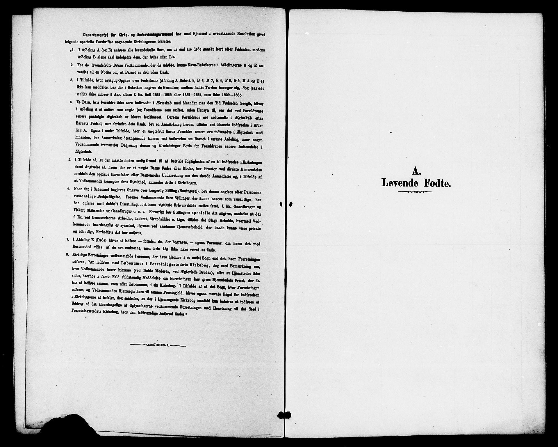 SAKO, Hjartdal kirkebøker, G/Gb/L0003: Klokkerbok nr. II 3, 1884-1899