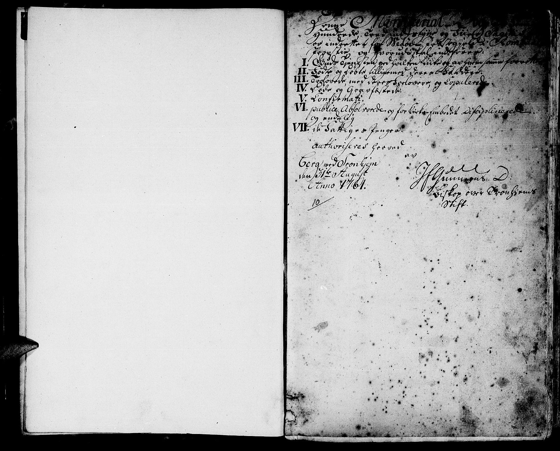 SAT, Ministerialprotokoller, klokkerbøker og fødselsregistre - Møre og Romsdal, 547/L0600: Ministerialbok nr. 547A02, 1765-1799, s. 0-1