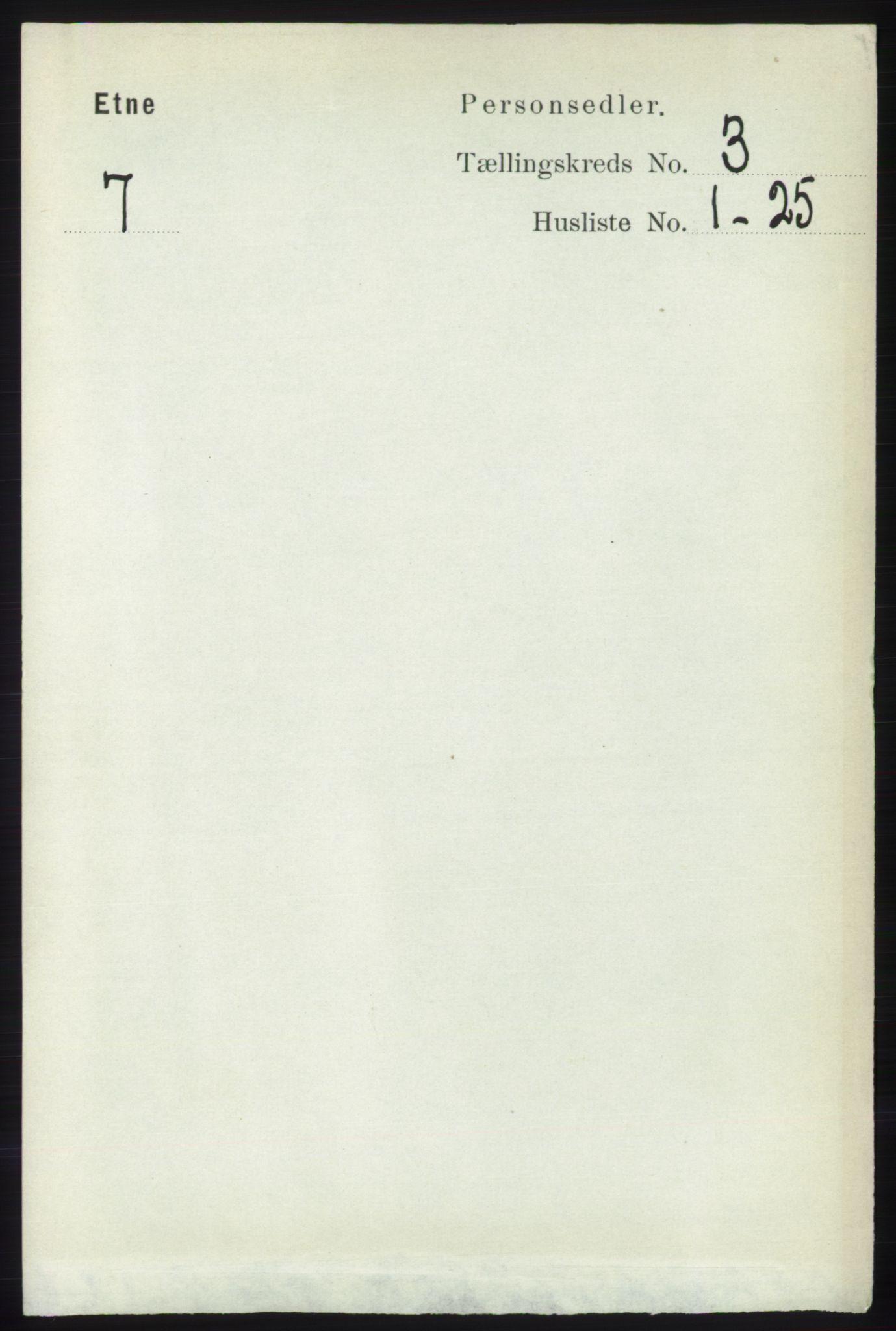 RA, Folketelling 1891 for 1211 Etne herred, 1891, s. 688