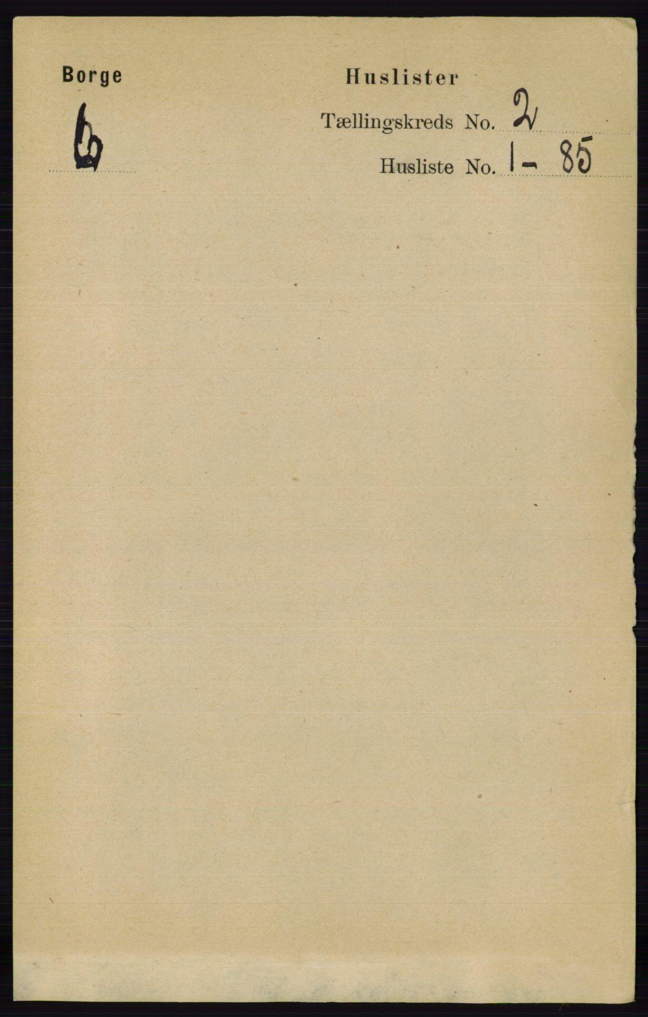 RA, Folketelling 1891 for 0113 Borge herred, 1891, s. 735