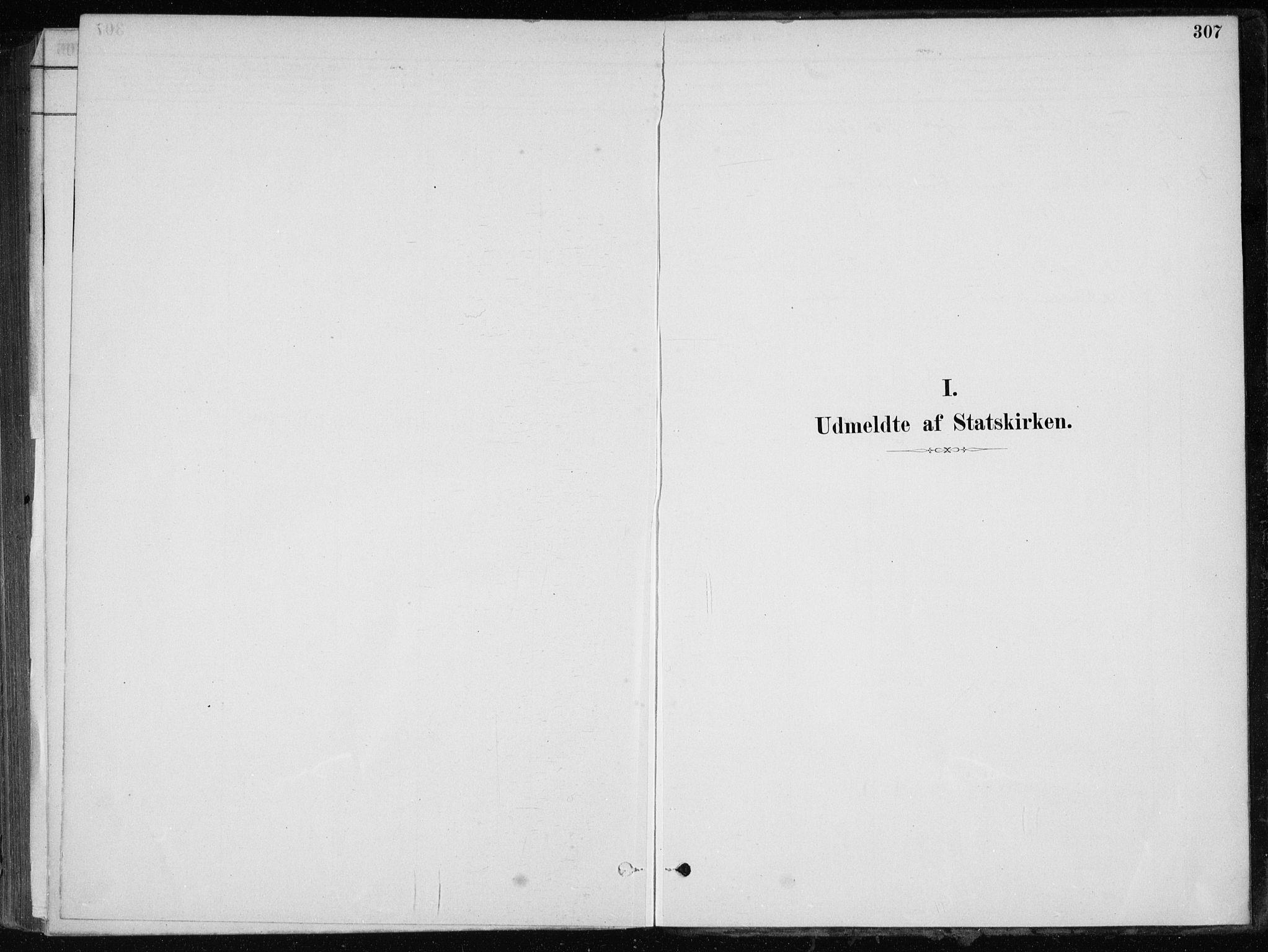 SAB, Skånevik Sokneprestembete, H/Haa: Ministerialbok nr. E  1, 1879-1901, s. 307