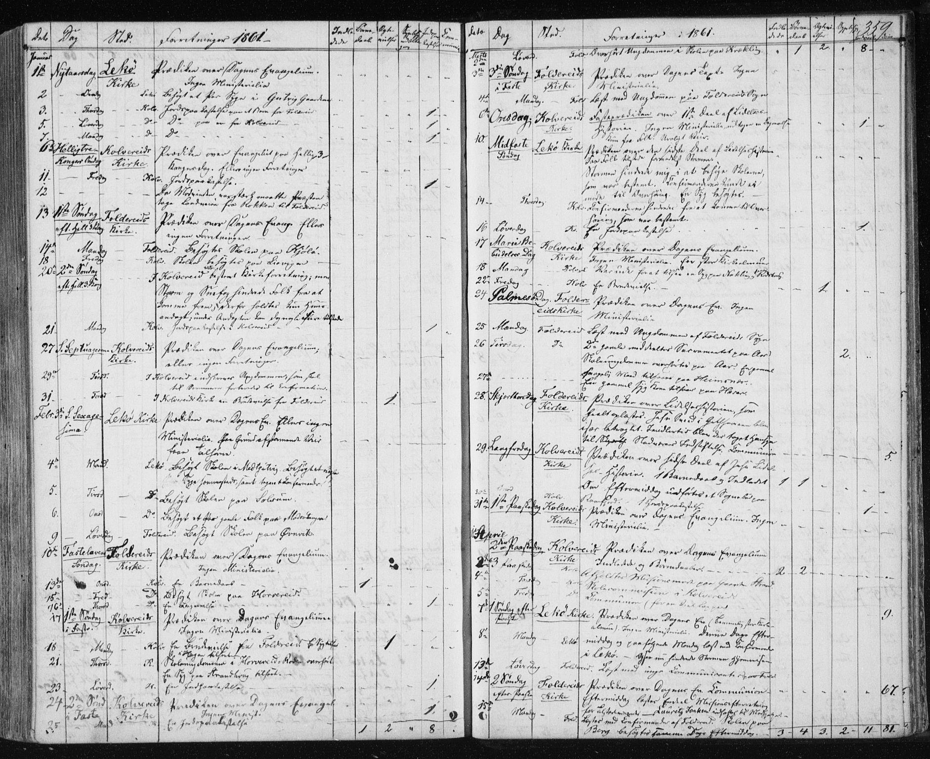 SAT, Ministerialprotokoller, klokkerbøker og fødselsregistre - Nord-Trøndelag, 780/L0641: Ministerialbok nr. 780A06, 1857-1874, s. 359