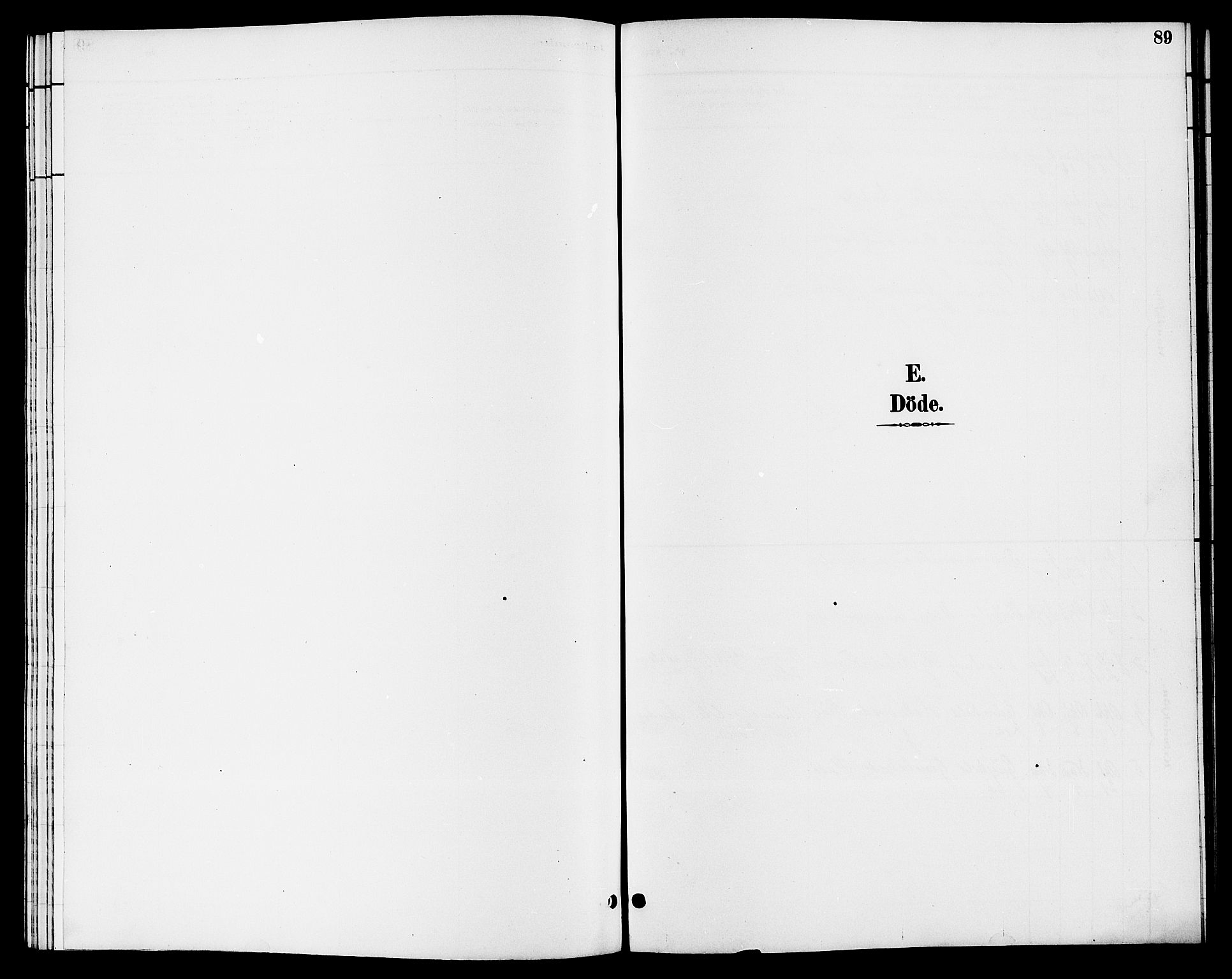 SAKO, Hjartdal kirkebøker, G/Gb/L0003: Klokkerbok nr. II 3, 1884-1899, s. 89