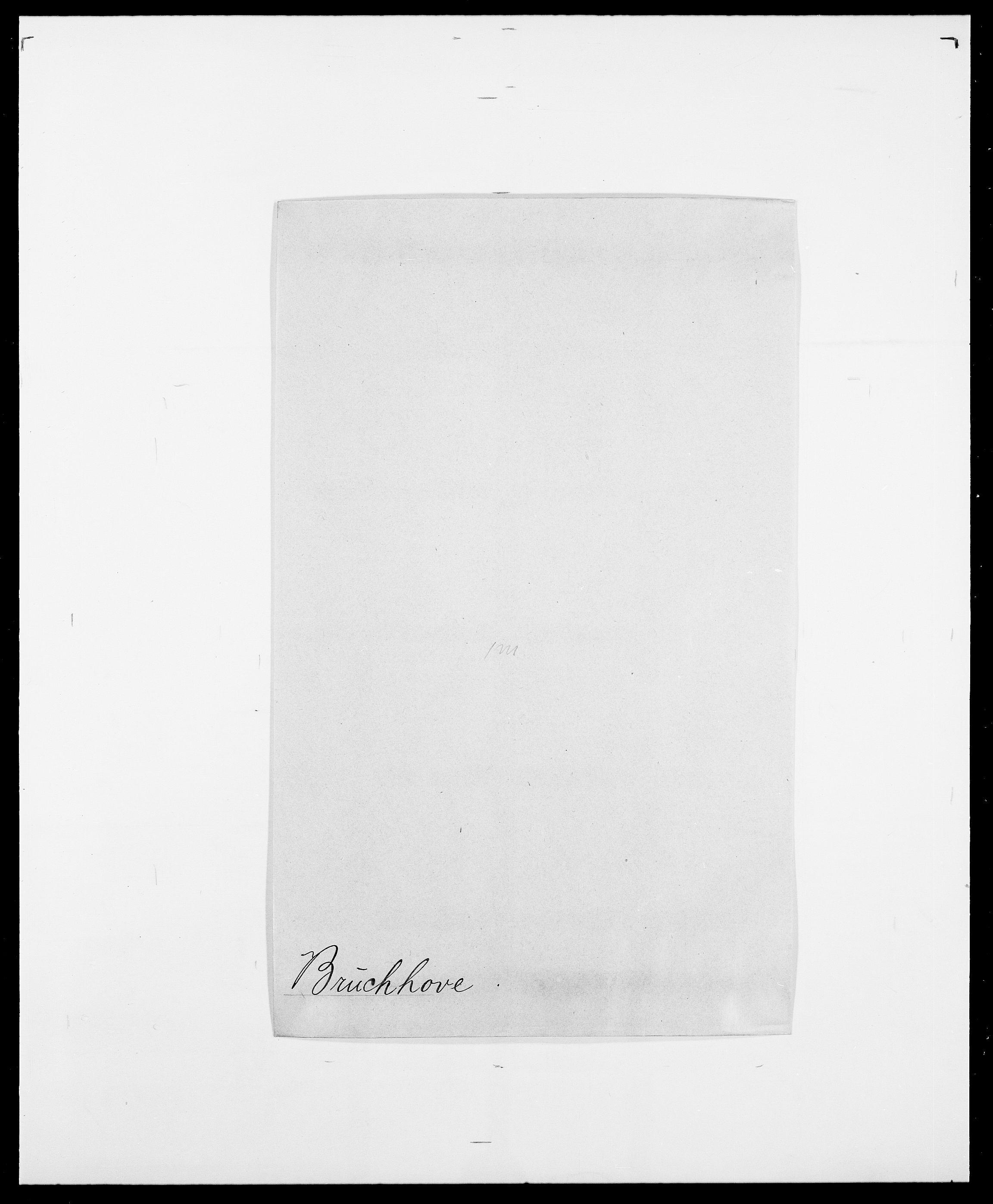 SAO, Delgobe, Charles Antoine - samling, D/Da/L0006: Brambani - Brønø, s. 566