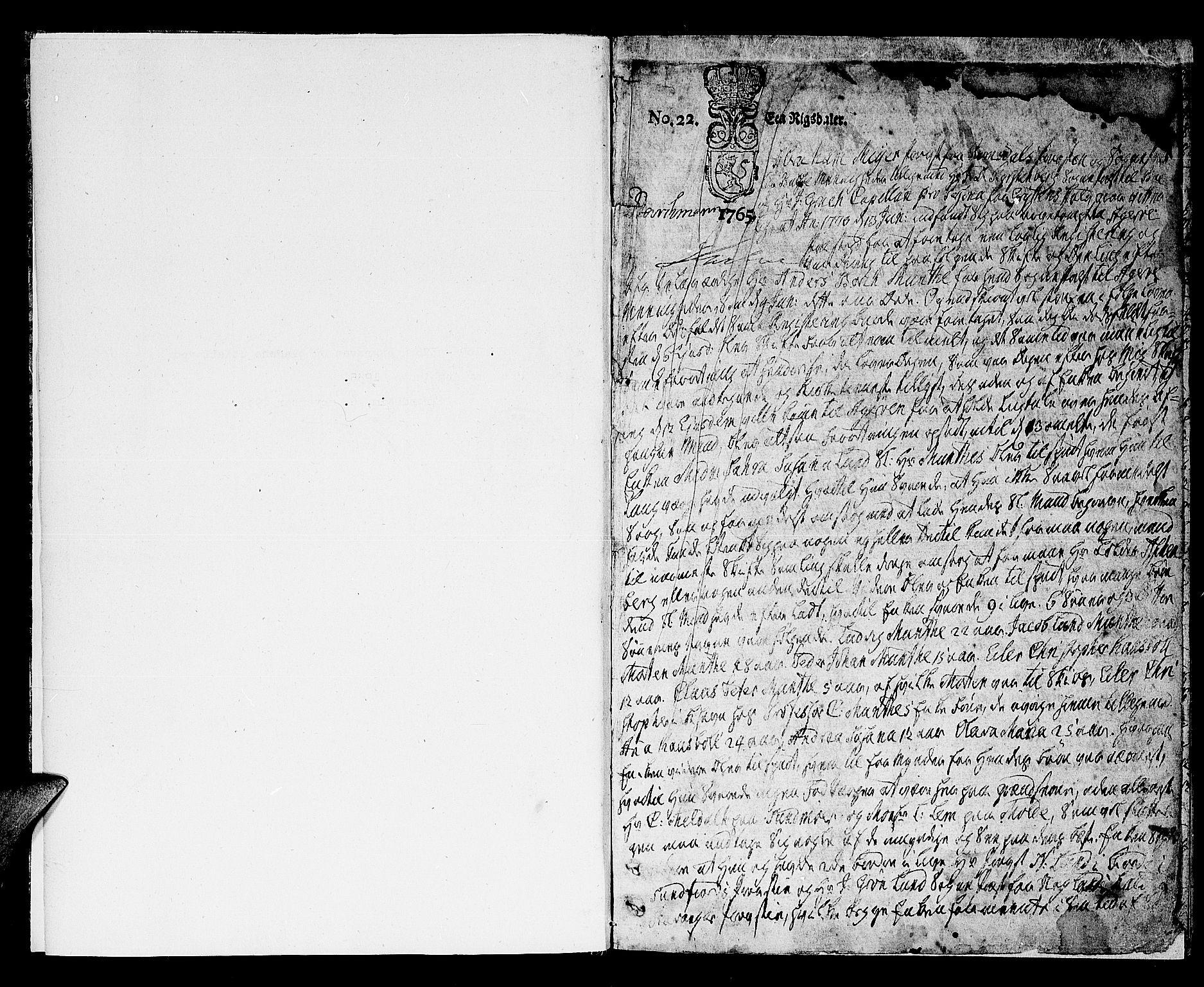 SAT, Romsdal prosti, I/I1/L0005: Skifteprotokoll for Romsdal prosti, 1765-1816, s. 0b-1a