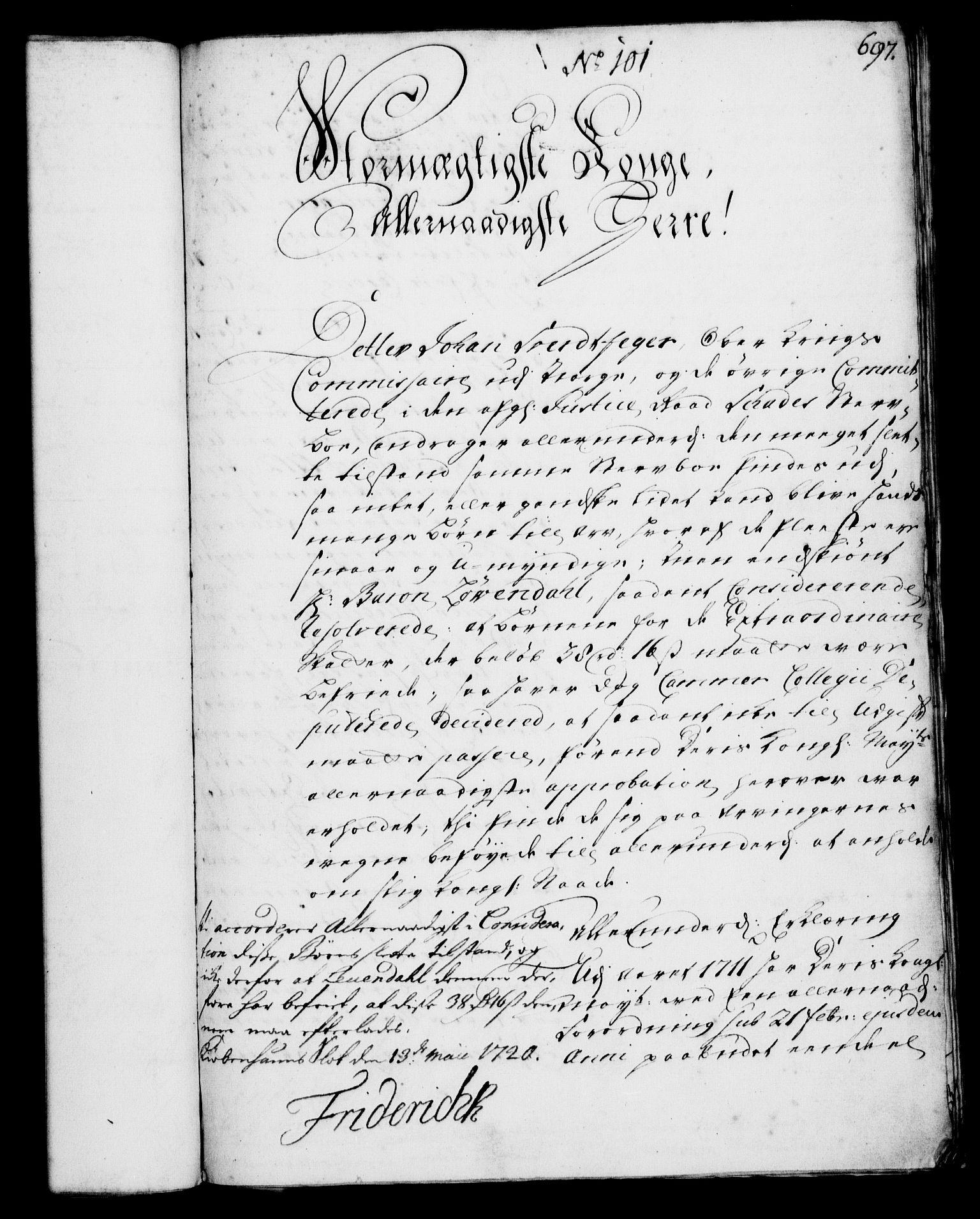 RA, Rentekammeret, Kammerkanselliet, G/Gf/Gfa/L0002: Norsk relasjons- og resolusjonsprotokoll (merket RK 52.2), 1720, s. 678